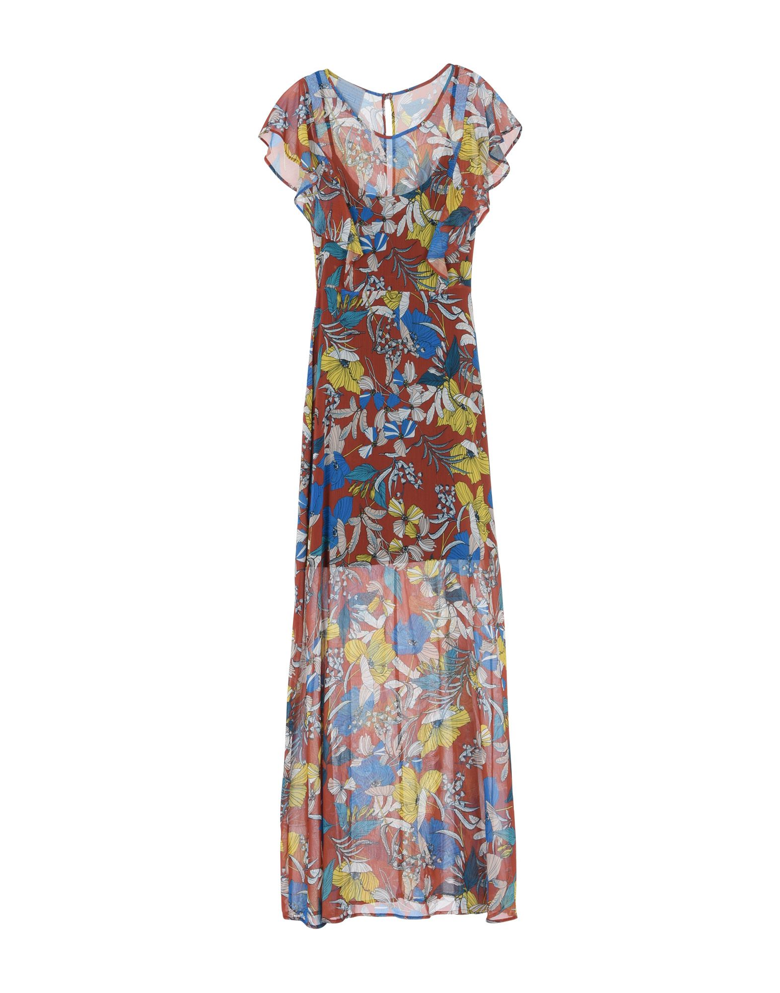 MIA SULIMAN Длинное платье туники сарафаны mia mia платье leona цвет синий l page 7