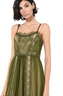 ALBERTA FERRETTI Dress with elaborate bodice Long Dress Woman e