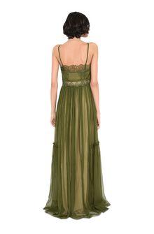 ALBERTA FERRETTI Dress with elaborate bodice Long Dress Woman r