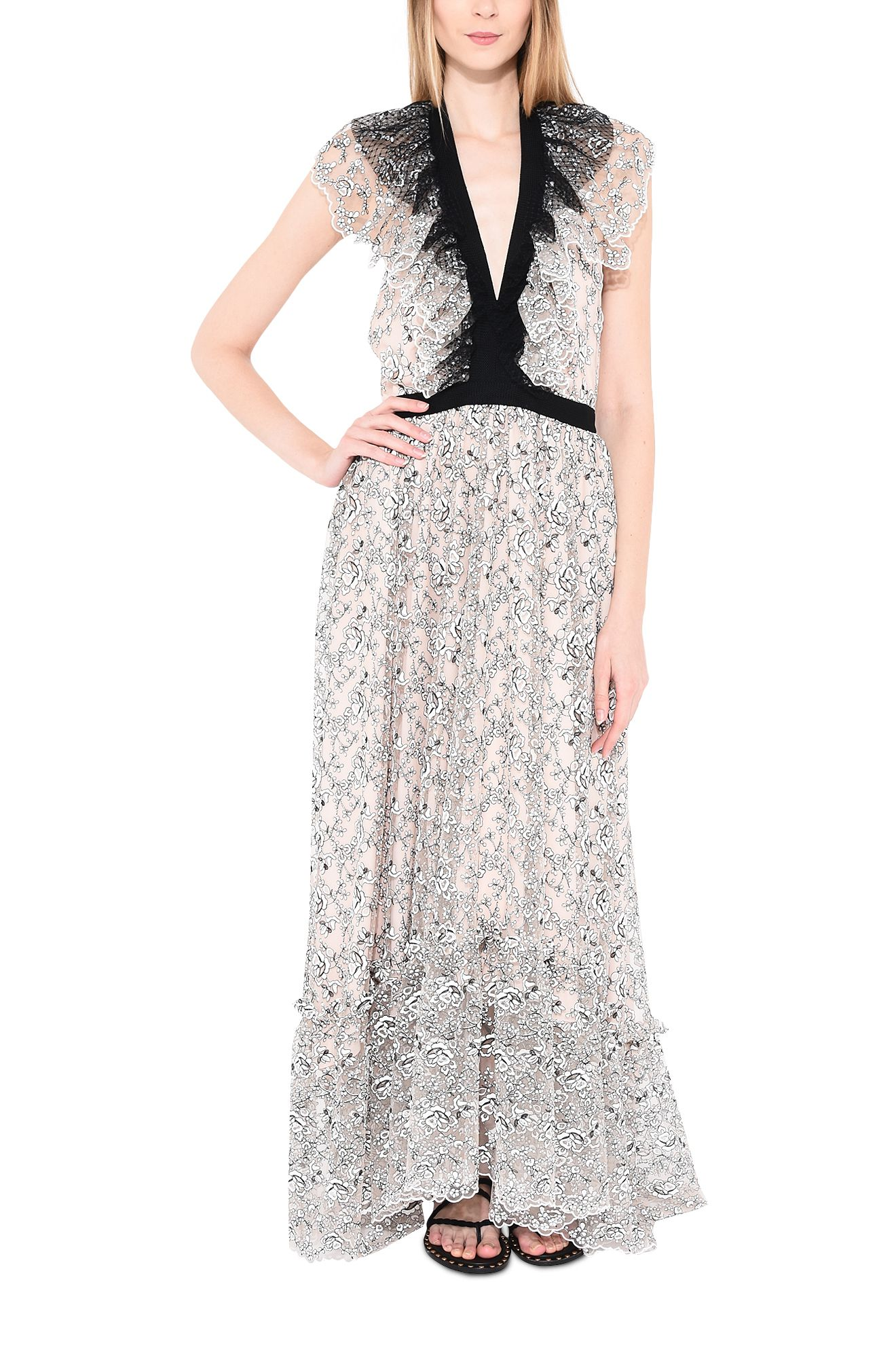 PHILOSOPHY di LORENZO SERAFINI Long Dress D r