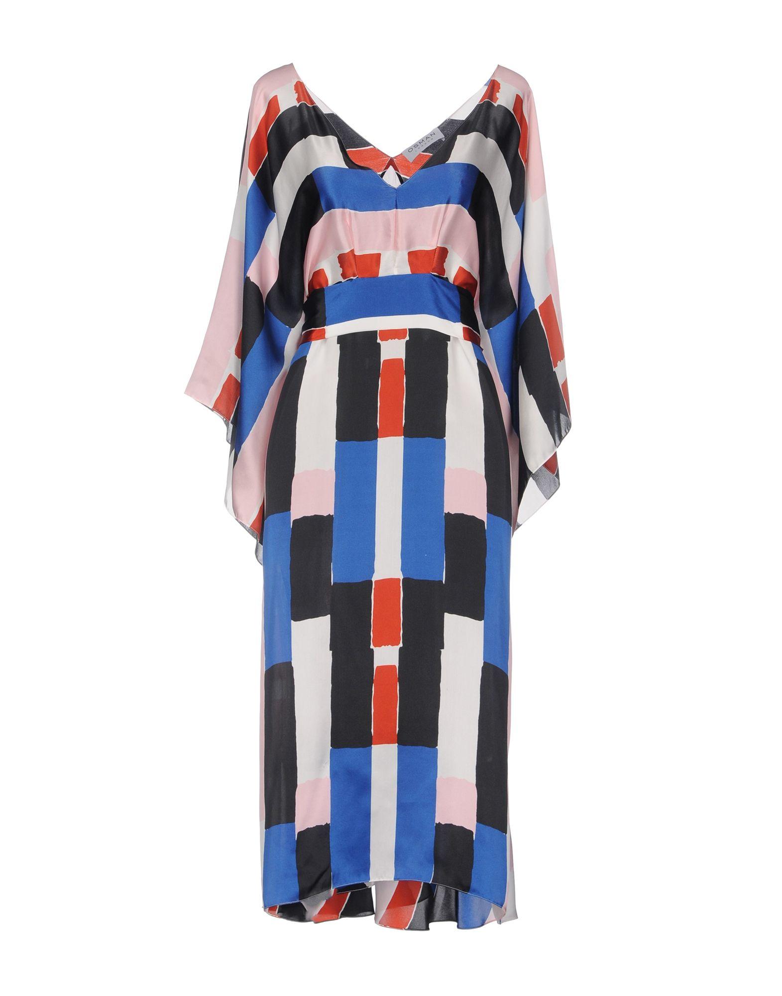 OSMAN Платье до колена osman короткое платье
