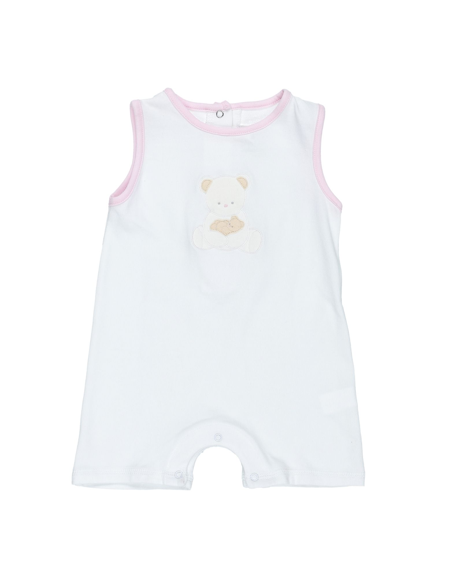 YOOX.COM(ユークス)《セール開催中》COCCOD? ガールズ 0-24 ヶ月 乳幼児用ロンパース ホワイト 9 コットン 95% / ポリウレタン 5%