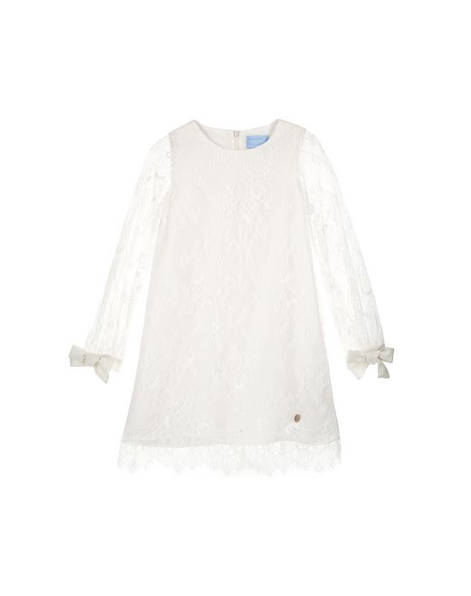 WHITE LACE DRESS - Lanvin