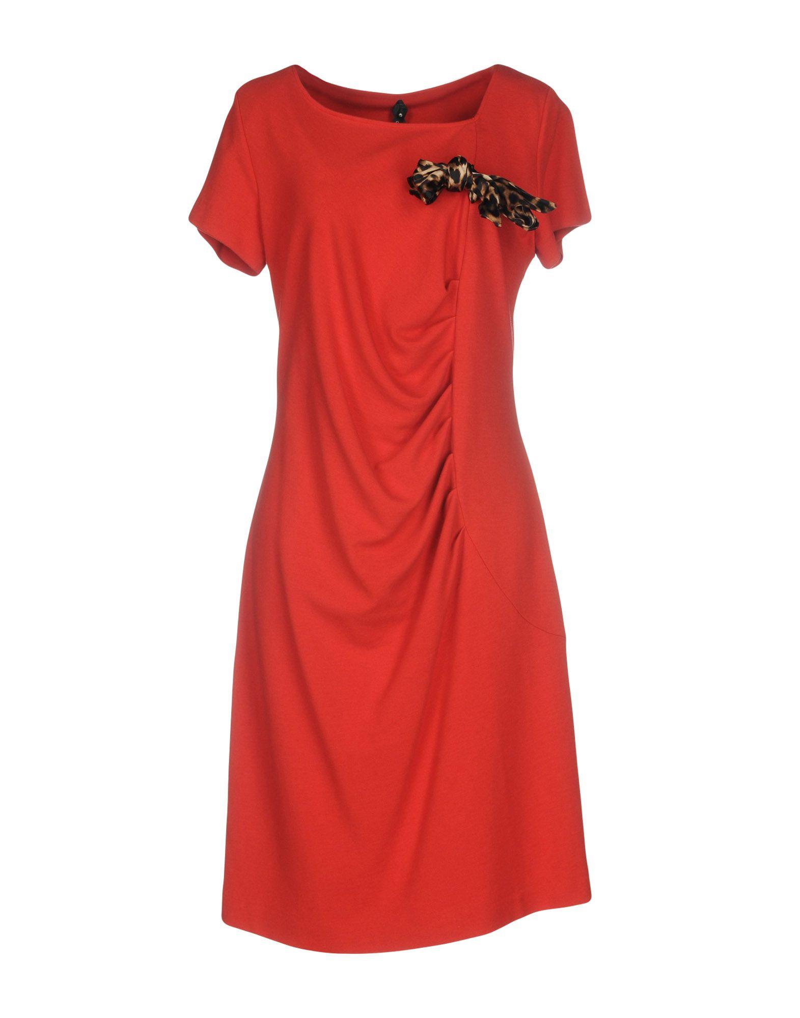 ROCCOBAROCCO Платье до колена roccobarocco короткое платье