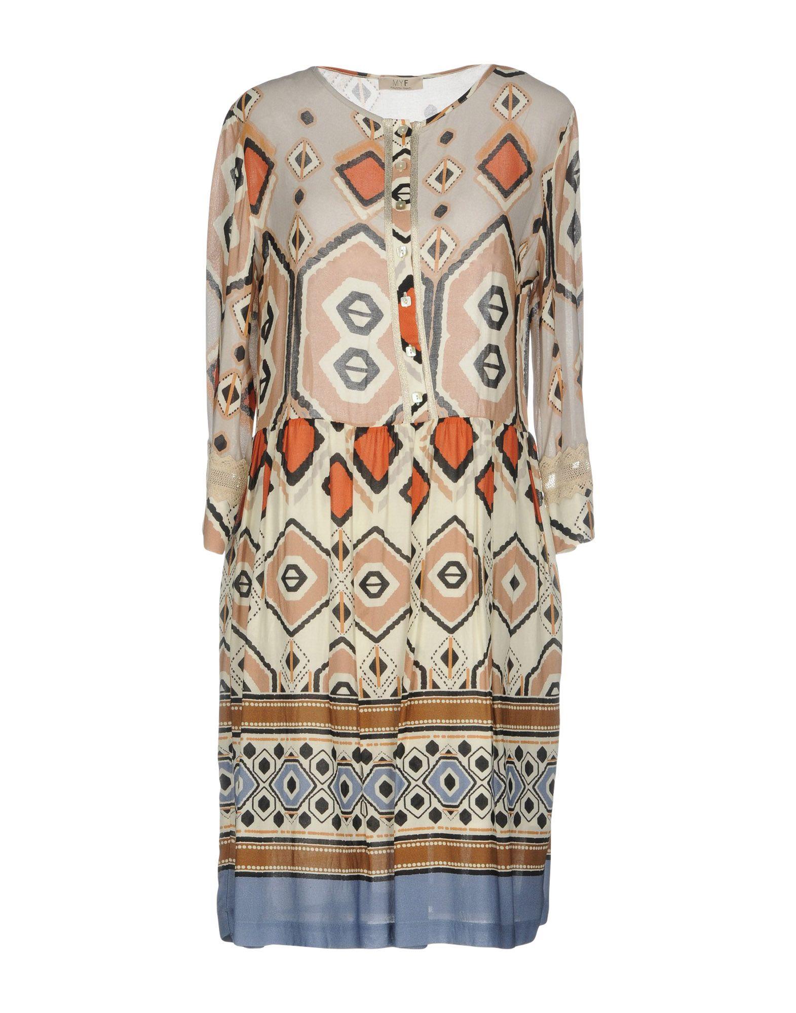 где купить MYF Короткое платье по лучшей цене