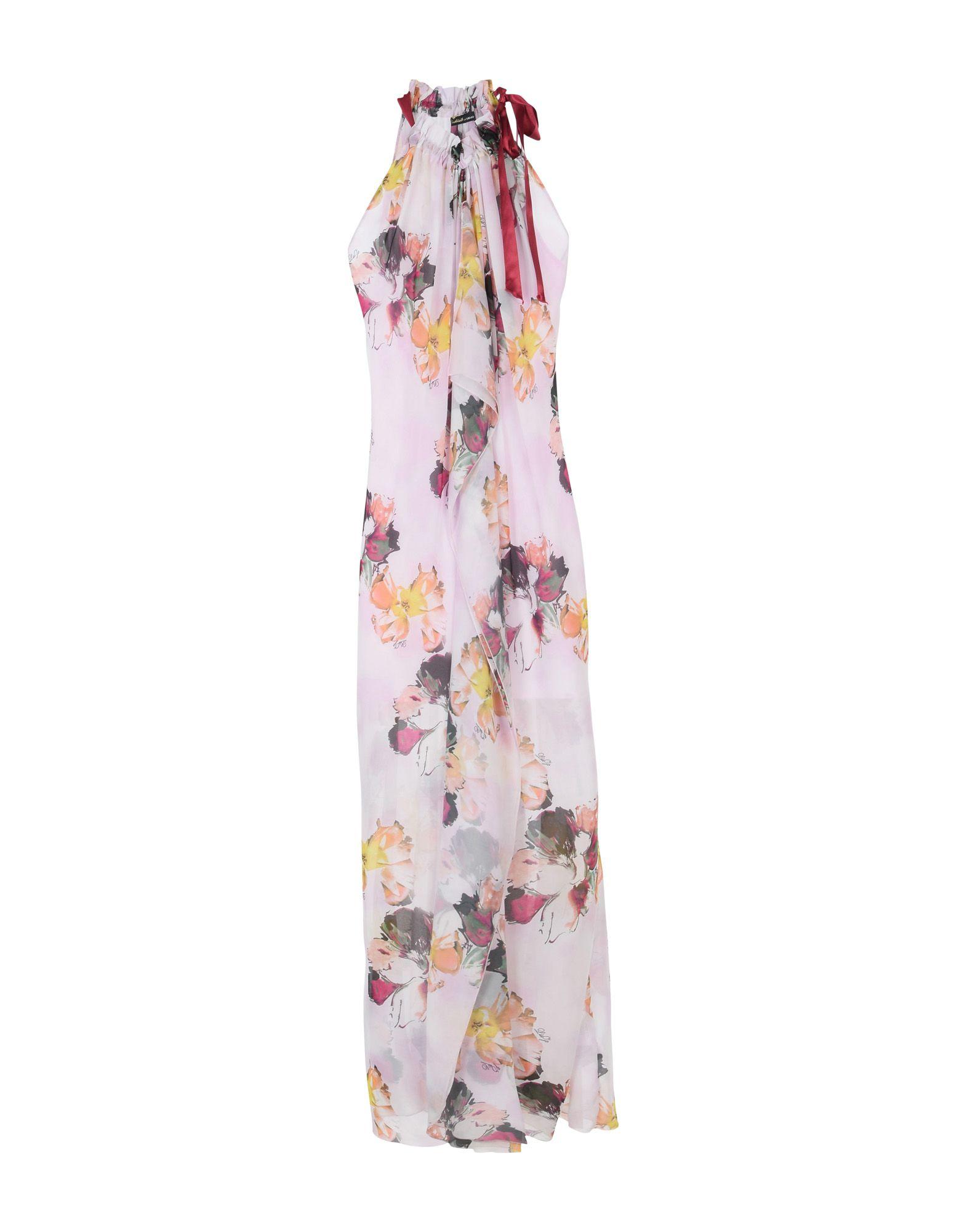 LES COCKTAILS DE LIU •JO Damen Langes Kleid Farbe Rosa Größe 6