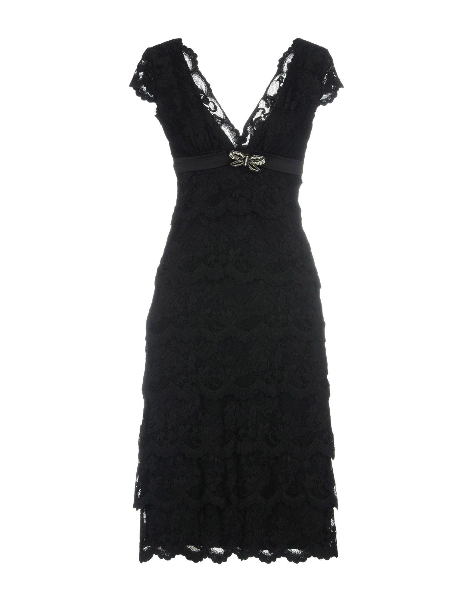Фото - OLVI'S Платье до колена брошь blucome bijouteria esmaltes 7106100495