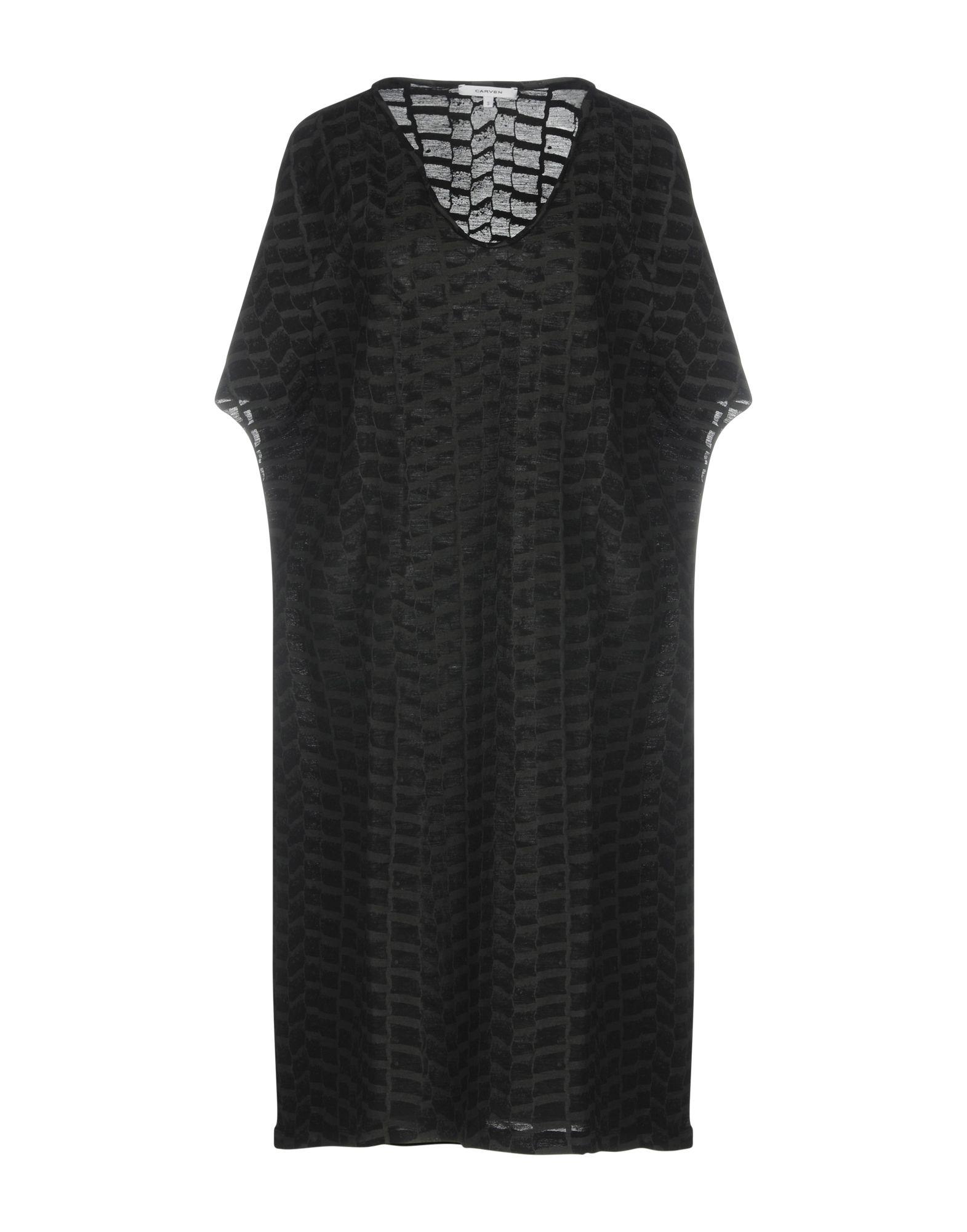 CARVEN Платье до колена цена 2017