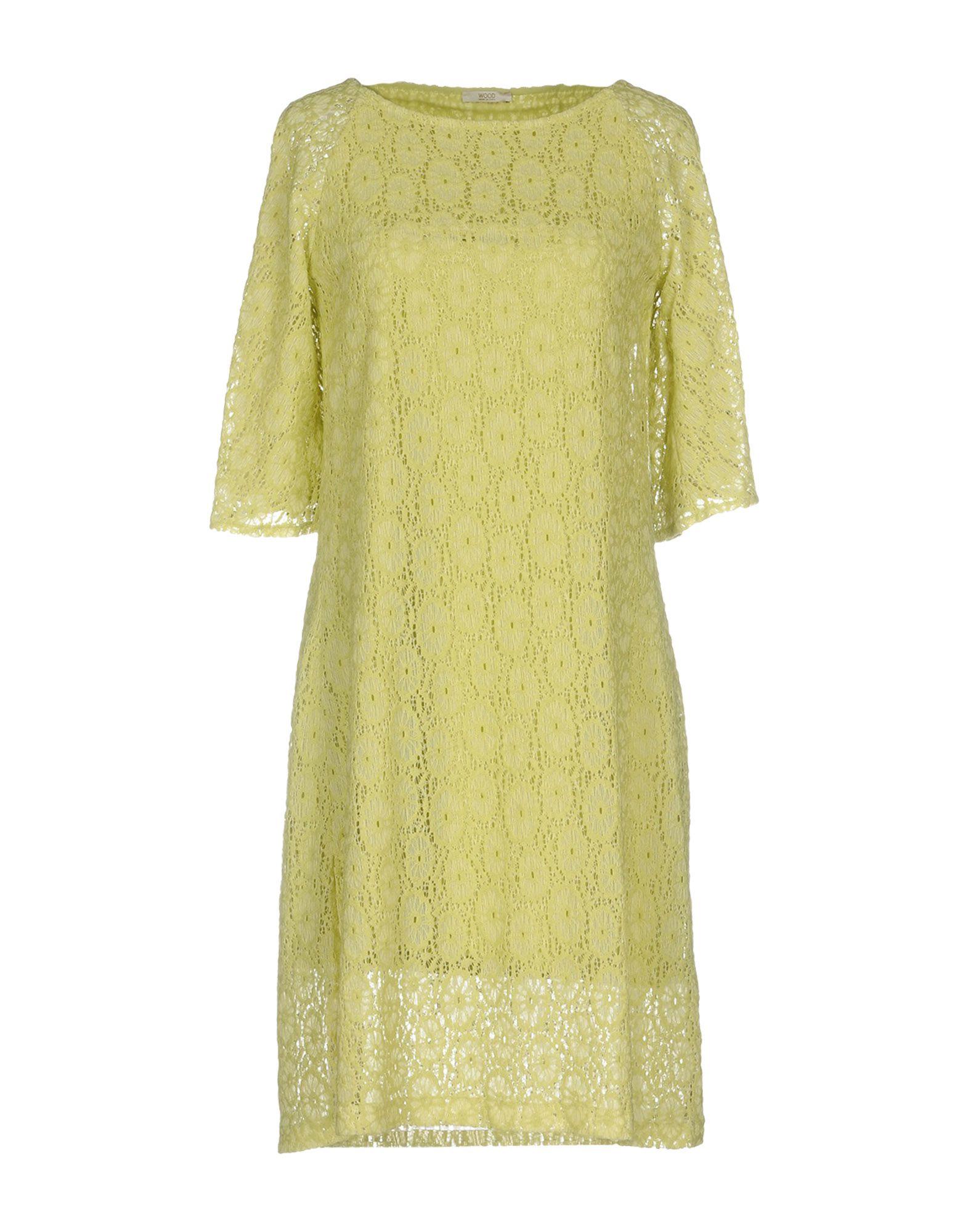 WOOD Короткое платье