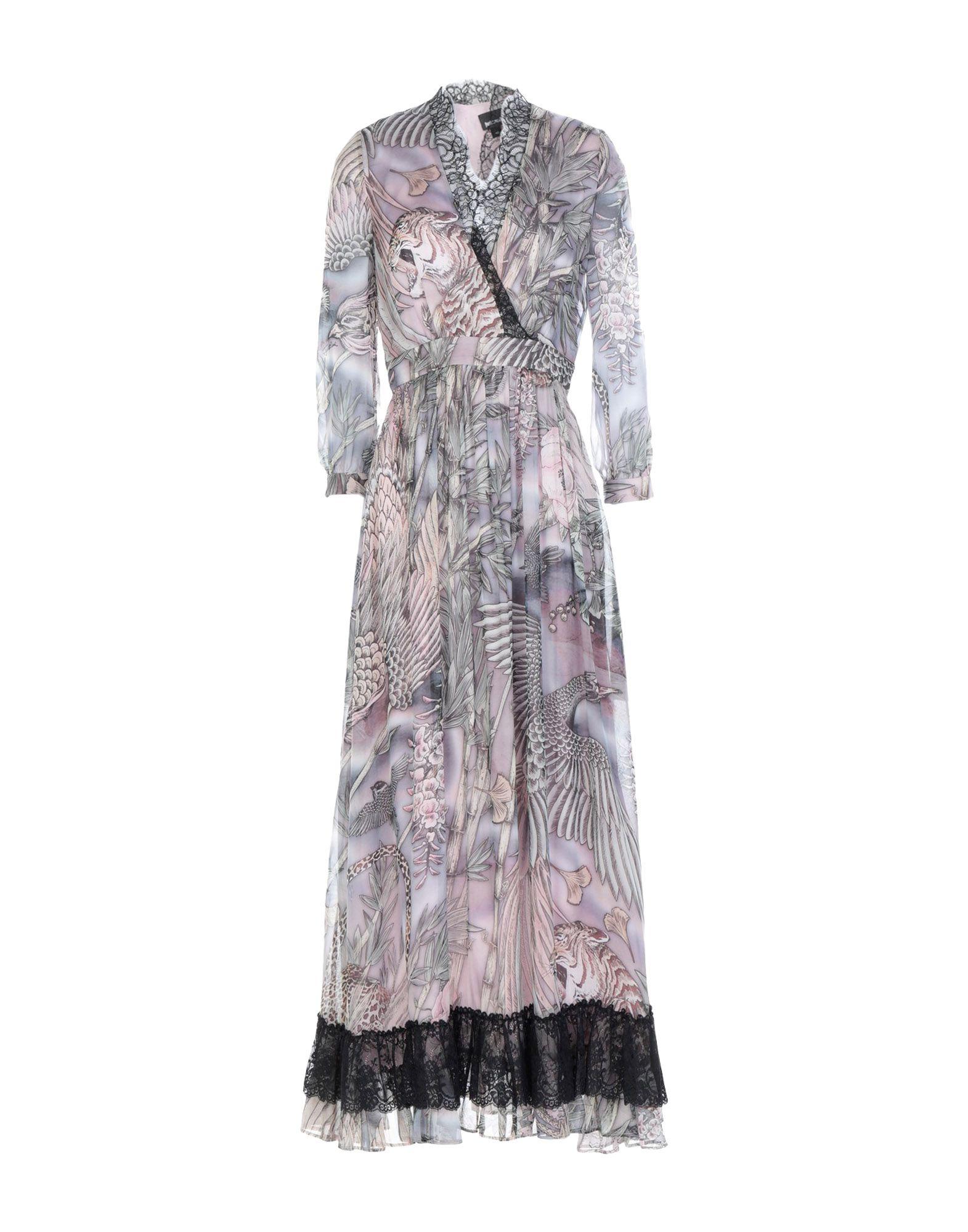 Длинное платье  Фиолетовый цвета