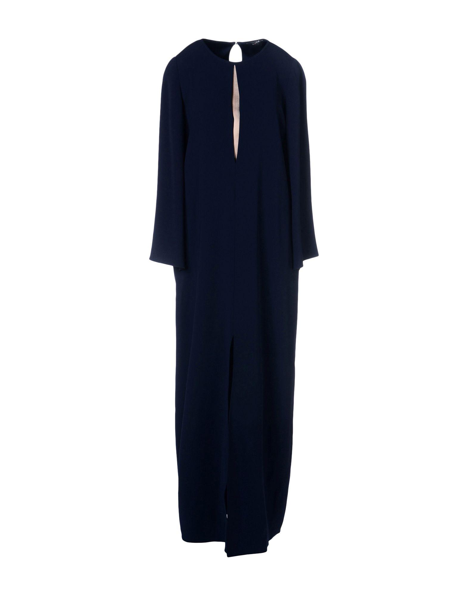 PAULE KA Длинное платье платье короткое спереди длинное сзади летнее