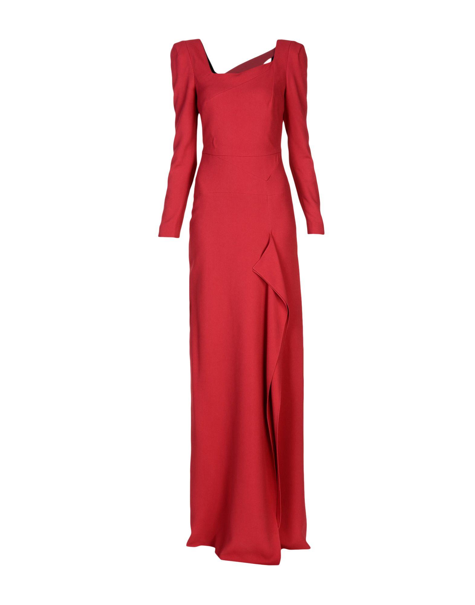ROLAND MOURET Длинное платье платье короткое спереди длинное сзади летнее