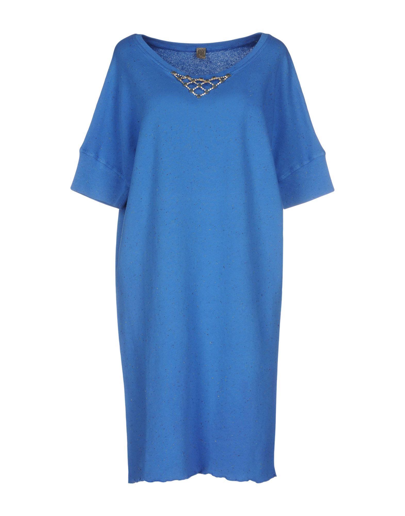 JIJIL Short Dress in Blue