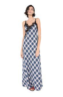 ALBERTA FERRETTI Long camisole dress LONG SLIP D f