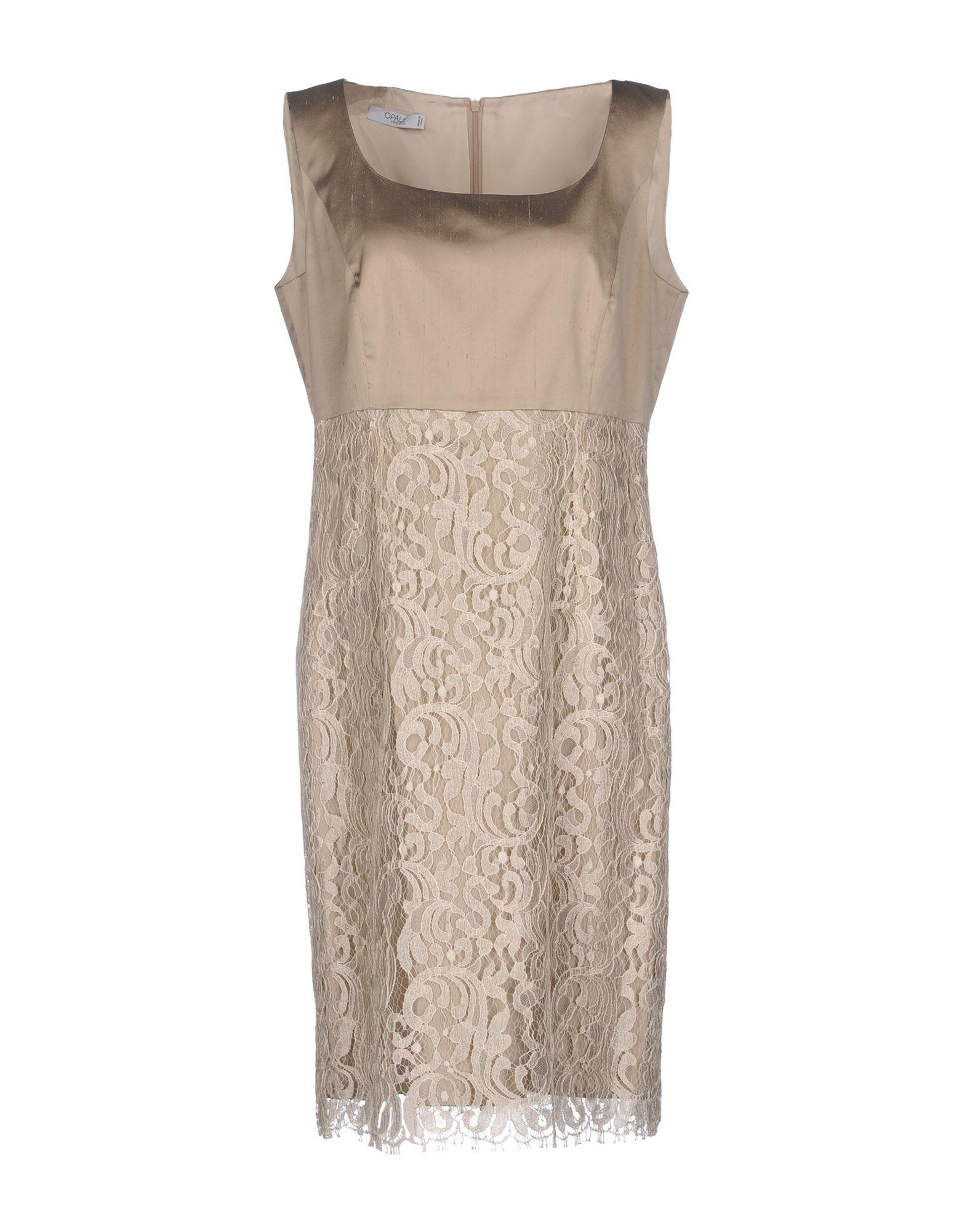 OPALE VENEZIA Платье до колена цена 2017
