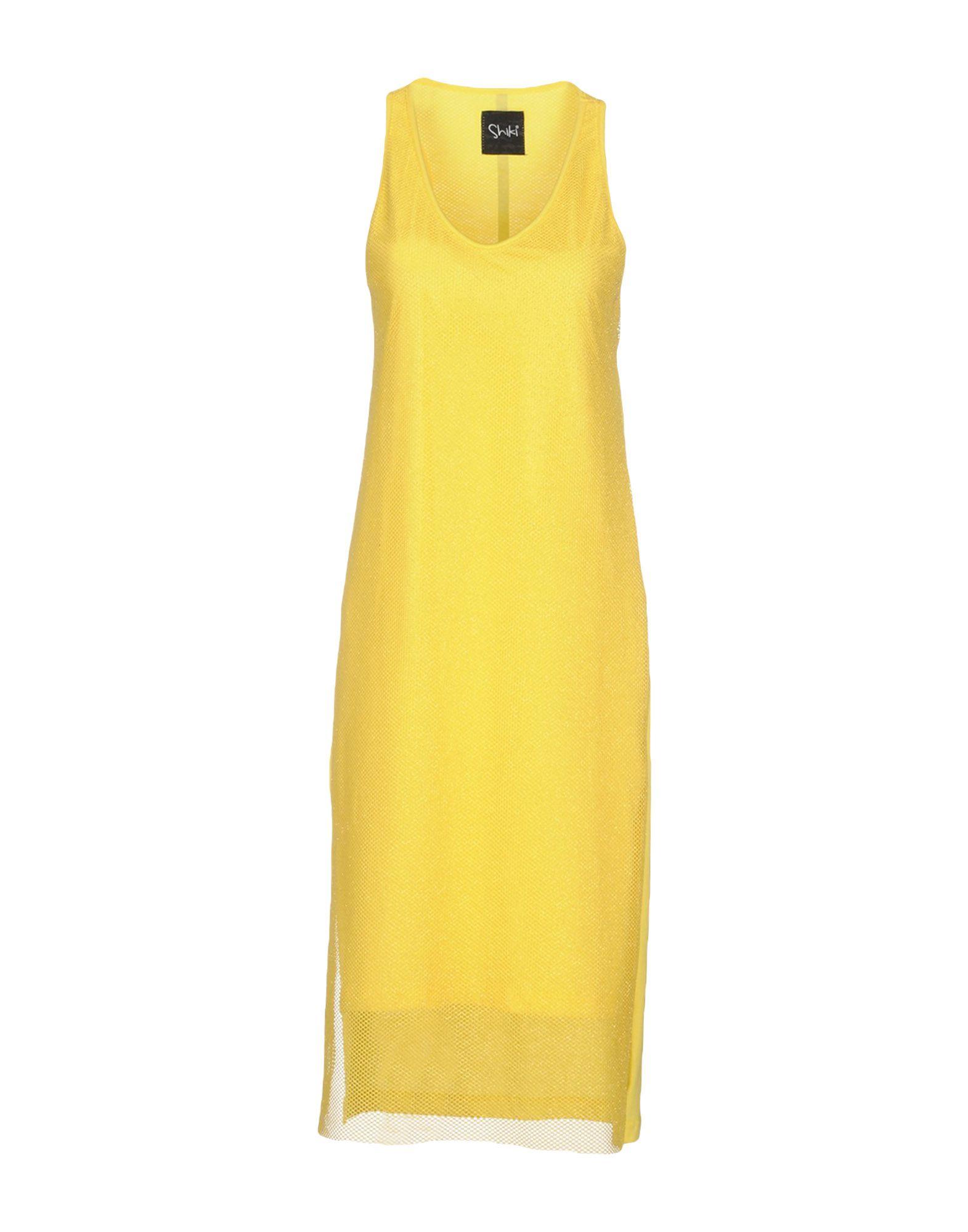 SHIKI Платье длиной 3/4 lisa corti платье длиной 3 4