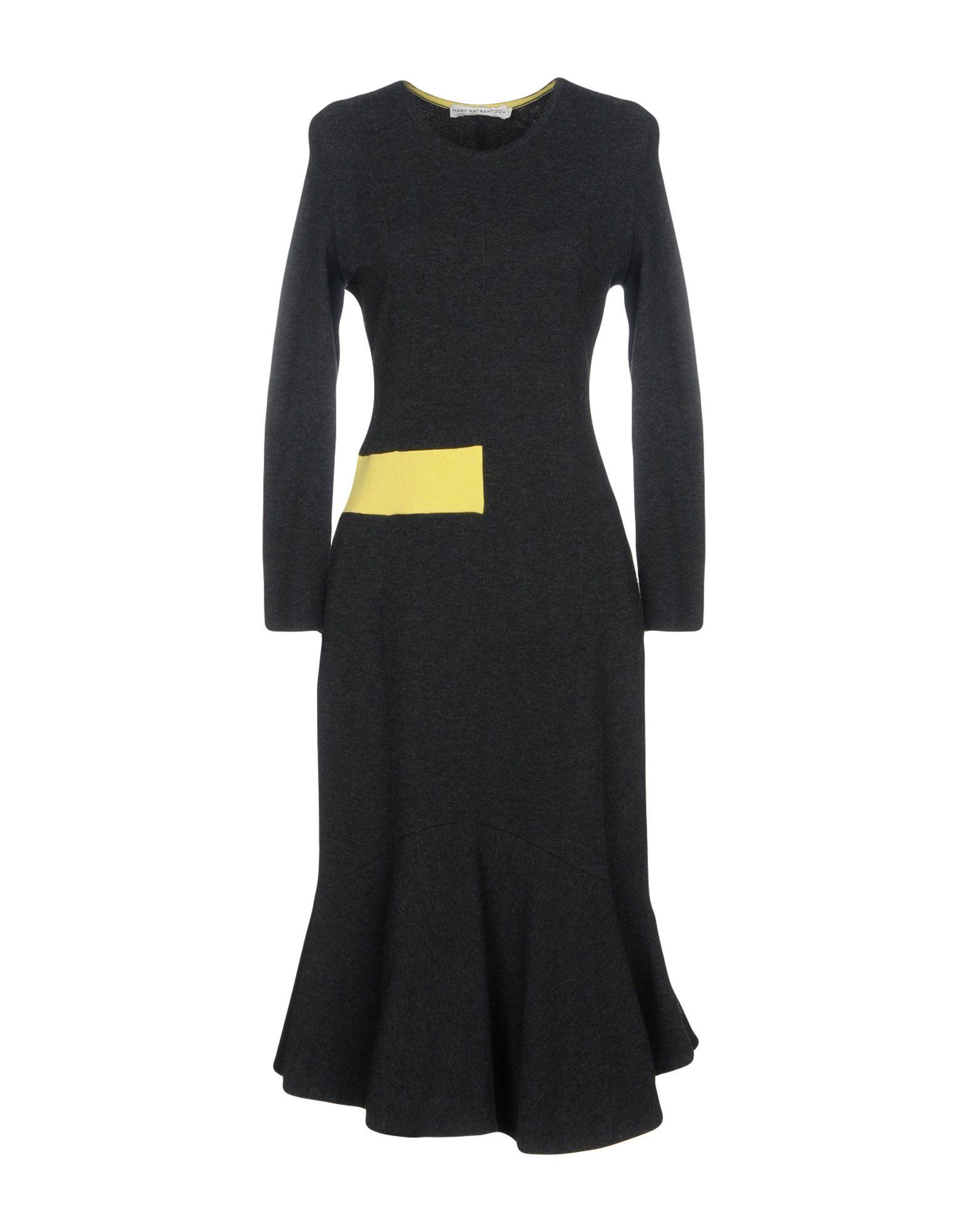 MARY KATRANTZOU Платье длиной 3/4 джемпер mary katrantzou джемпер
