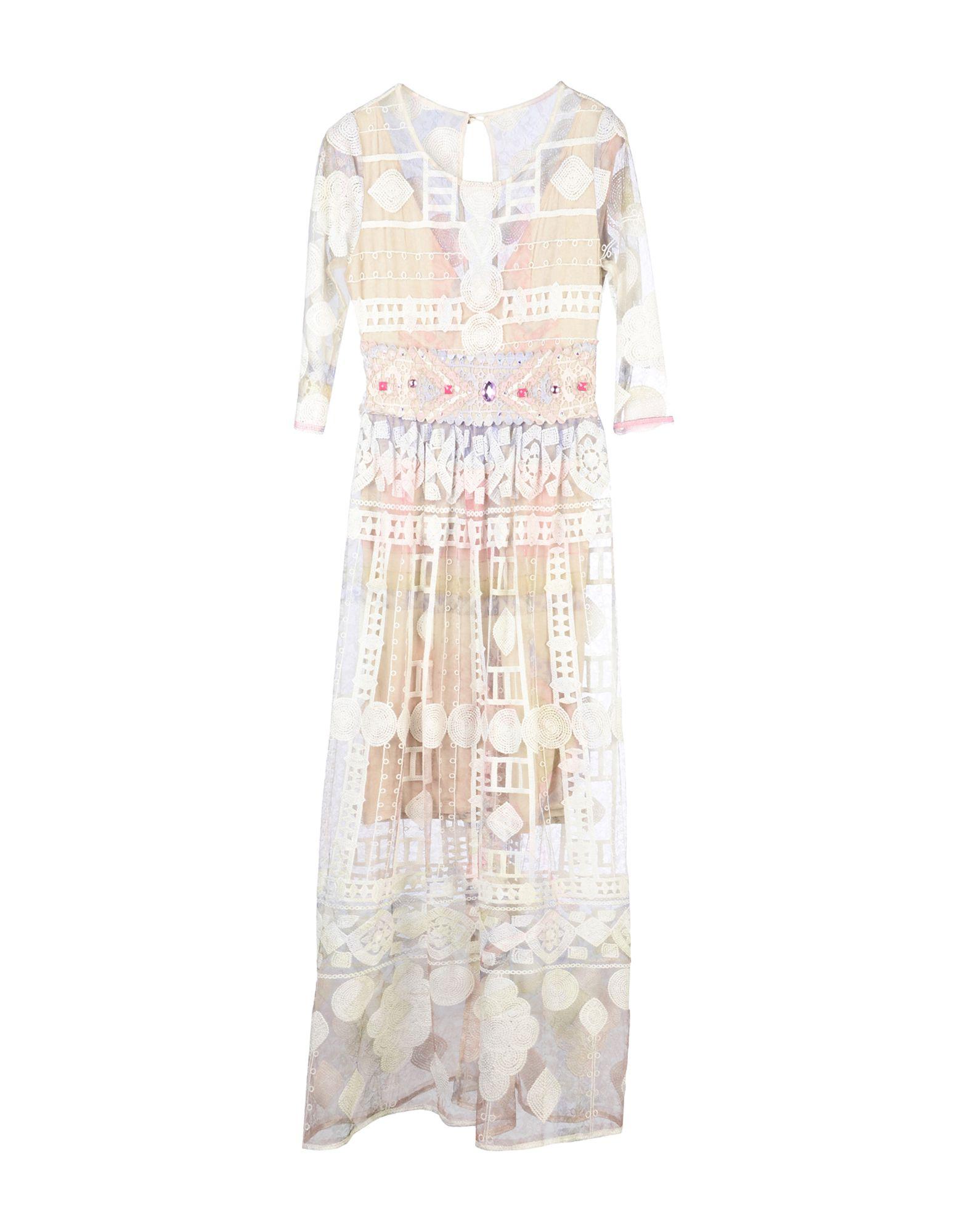 цена SONIA FORTUNA Длинное платье онлайн в 2017 году