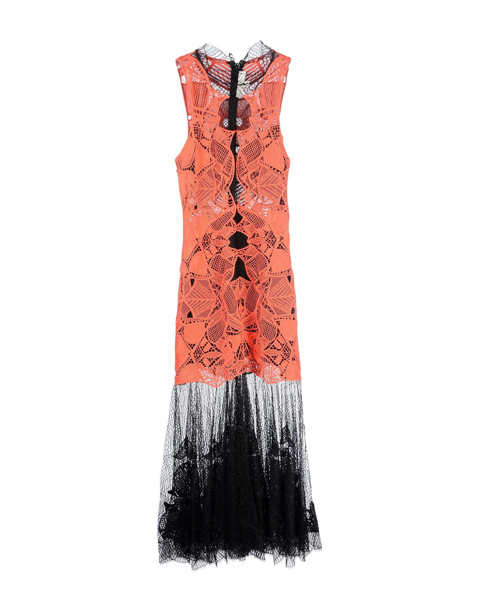 JONATHAN SIMKHAI Длинное платье jonathan simkhai юбка до колена