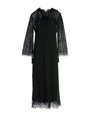 TALITHA レディース ロングワンピース&ドレス ブラック M コットン 100%