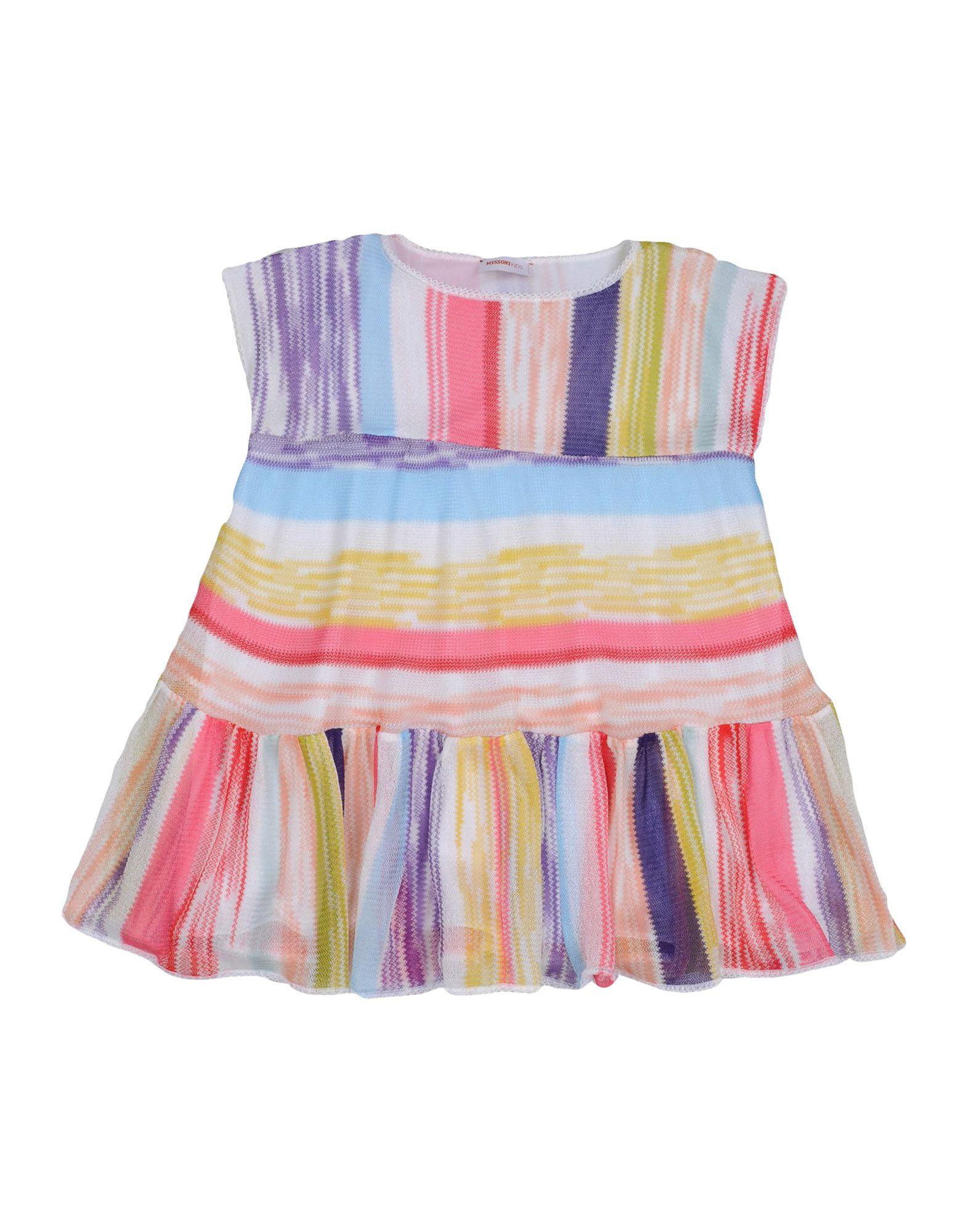 《送料無料》MISSONI KIDS ガールズ 3-8 歳 ワンピース&ドレス ピンク 4 レーヨン 100%
