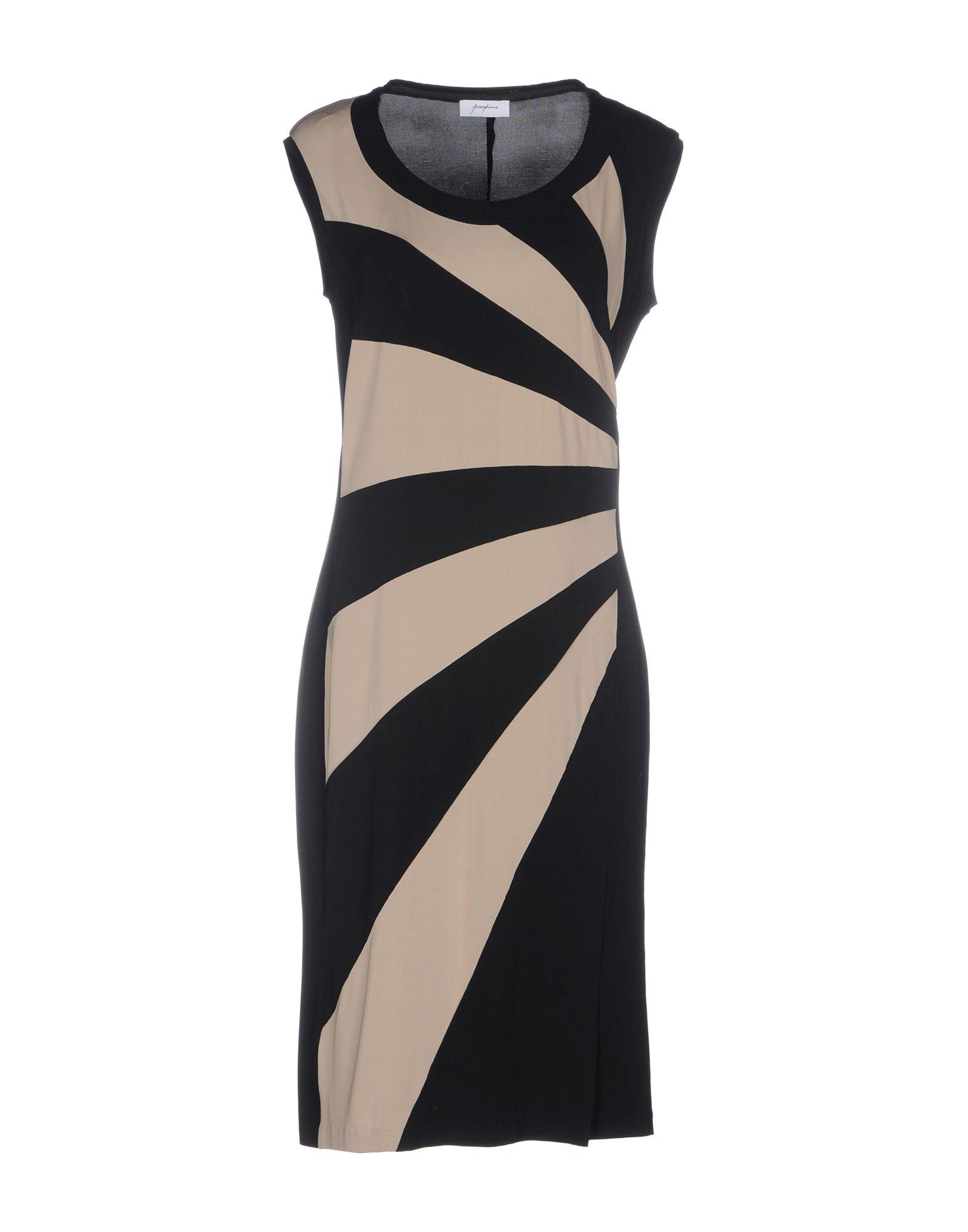 JOSEPHINE Платье до колена фантазер josephine набор плетение из фольги серебрянная роза