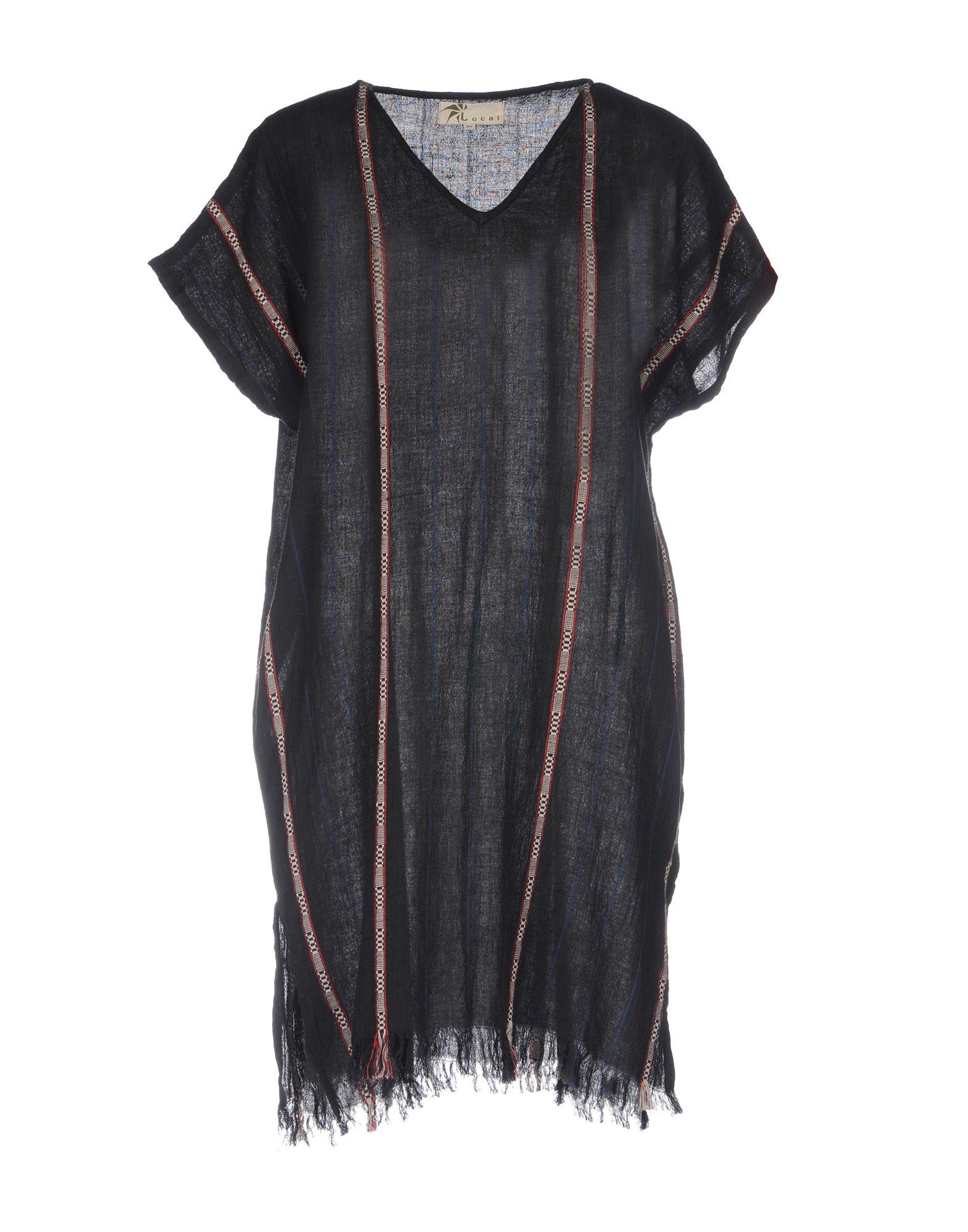LOCAL APPAREL Короткое платье цены онлайн