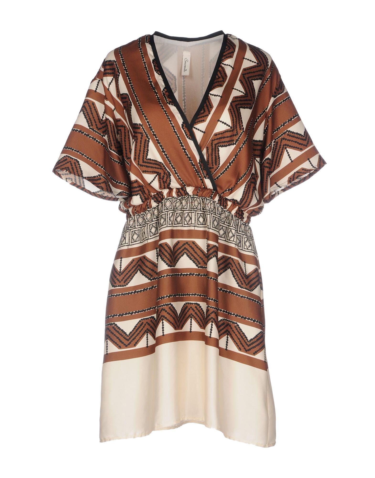 SOUVENIR Короткое платье lisa corti короткое платье
