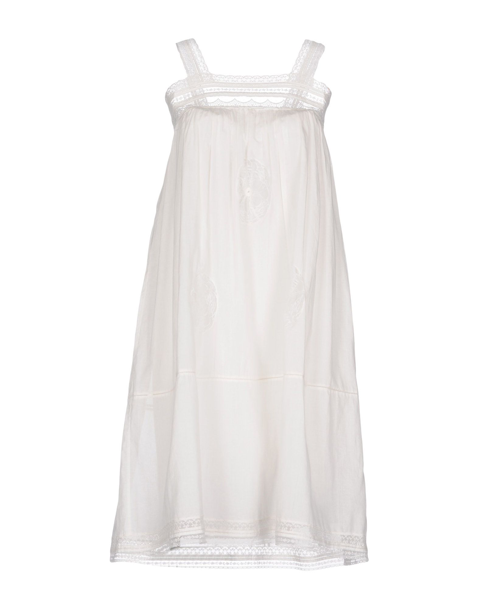 LAURENCE BRAS Knee-Length Dress in White