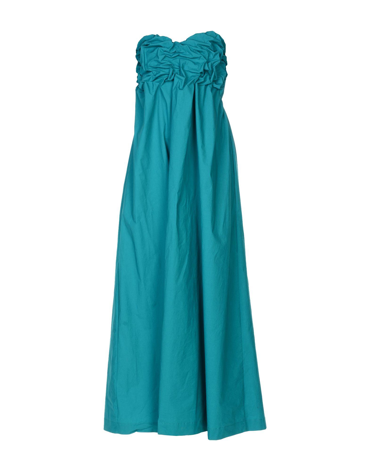 MSGM Платье длиной 3/4 lisa corti платье длиной 3 4