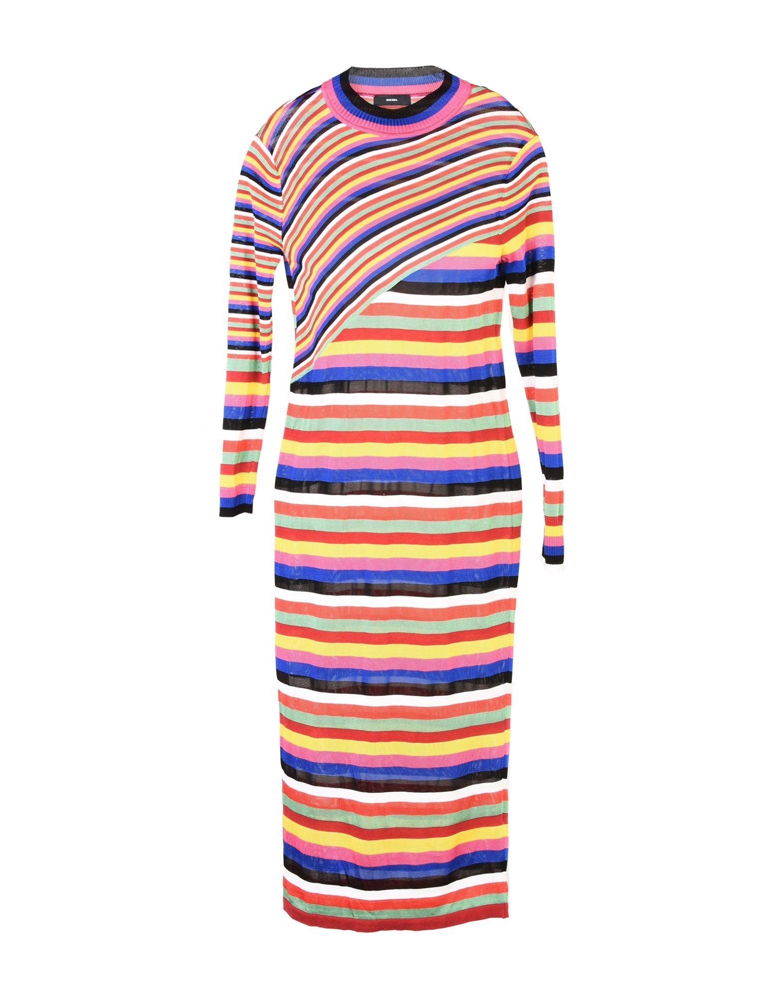 DIESEL Платье длиной 3/4 lisa corti платье длиной 3 4