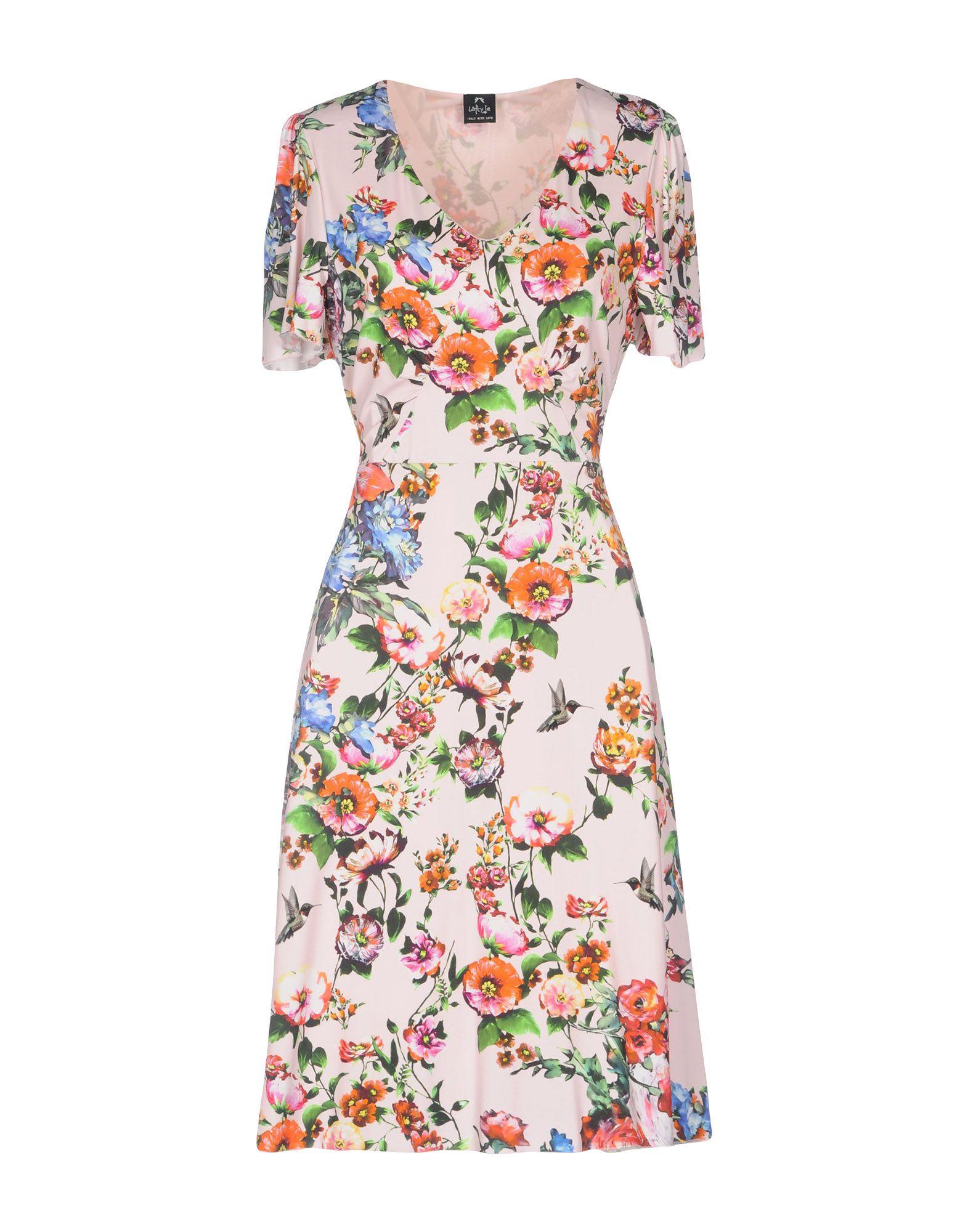 LAFTY LIE Платье до колена цена 2017