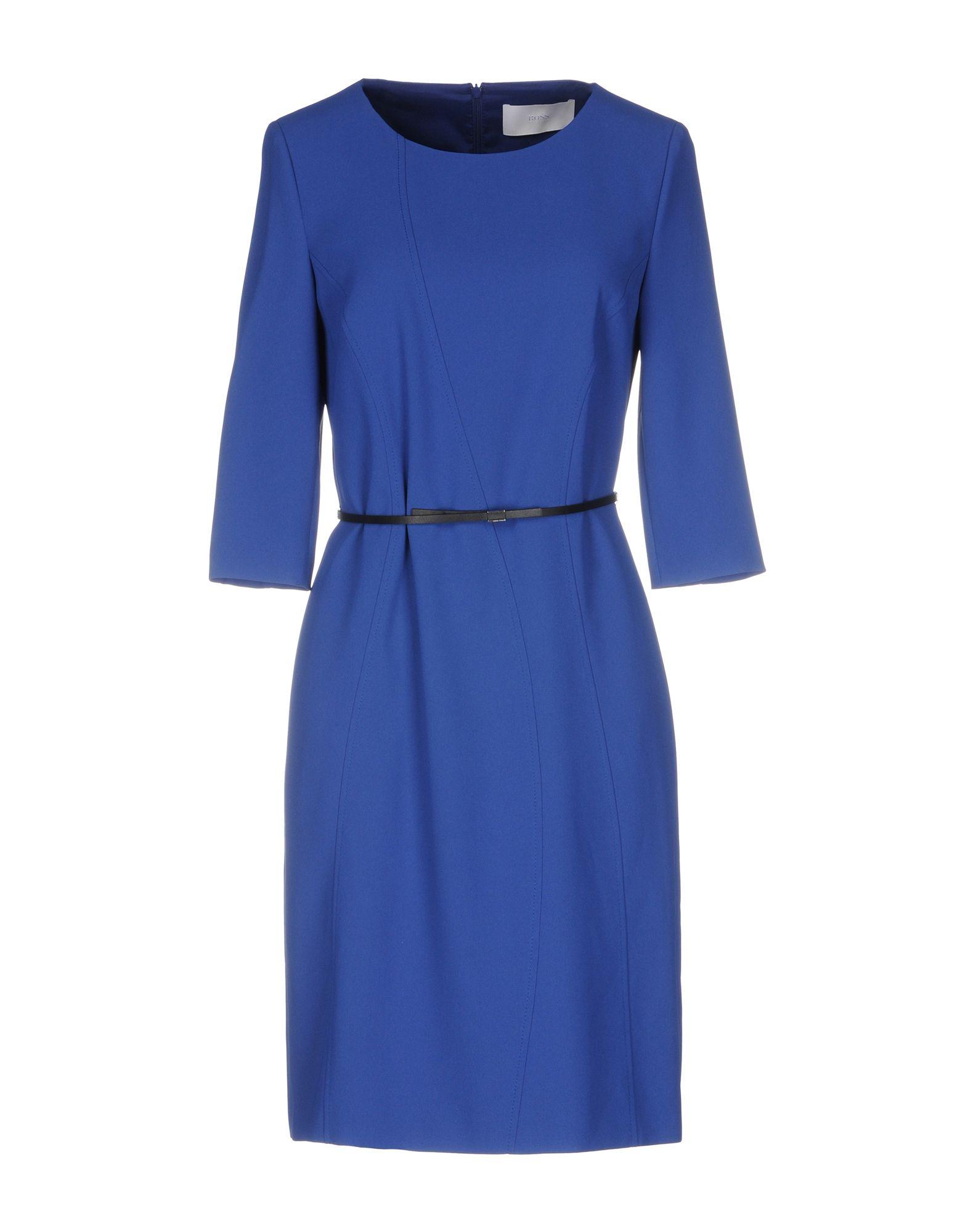 где купить BOSS BLACK Короткое платье по лучшей цене