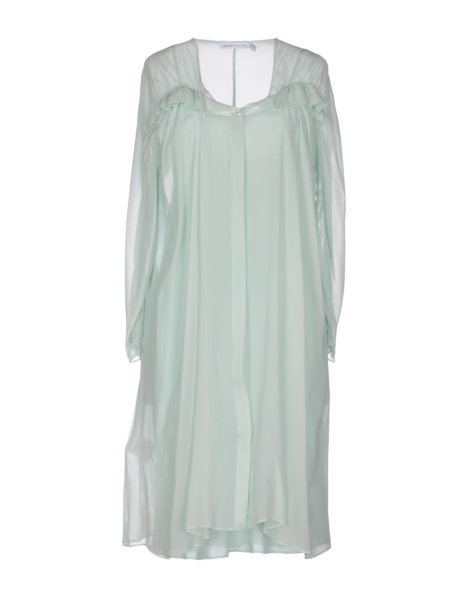 SEE BY CHLOÉ Платье до колена платье с зернистым рисунком chloé
