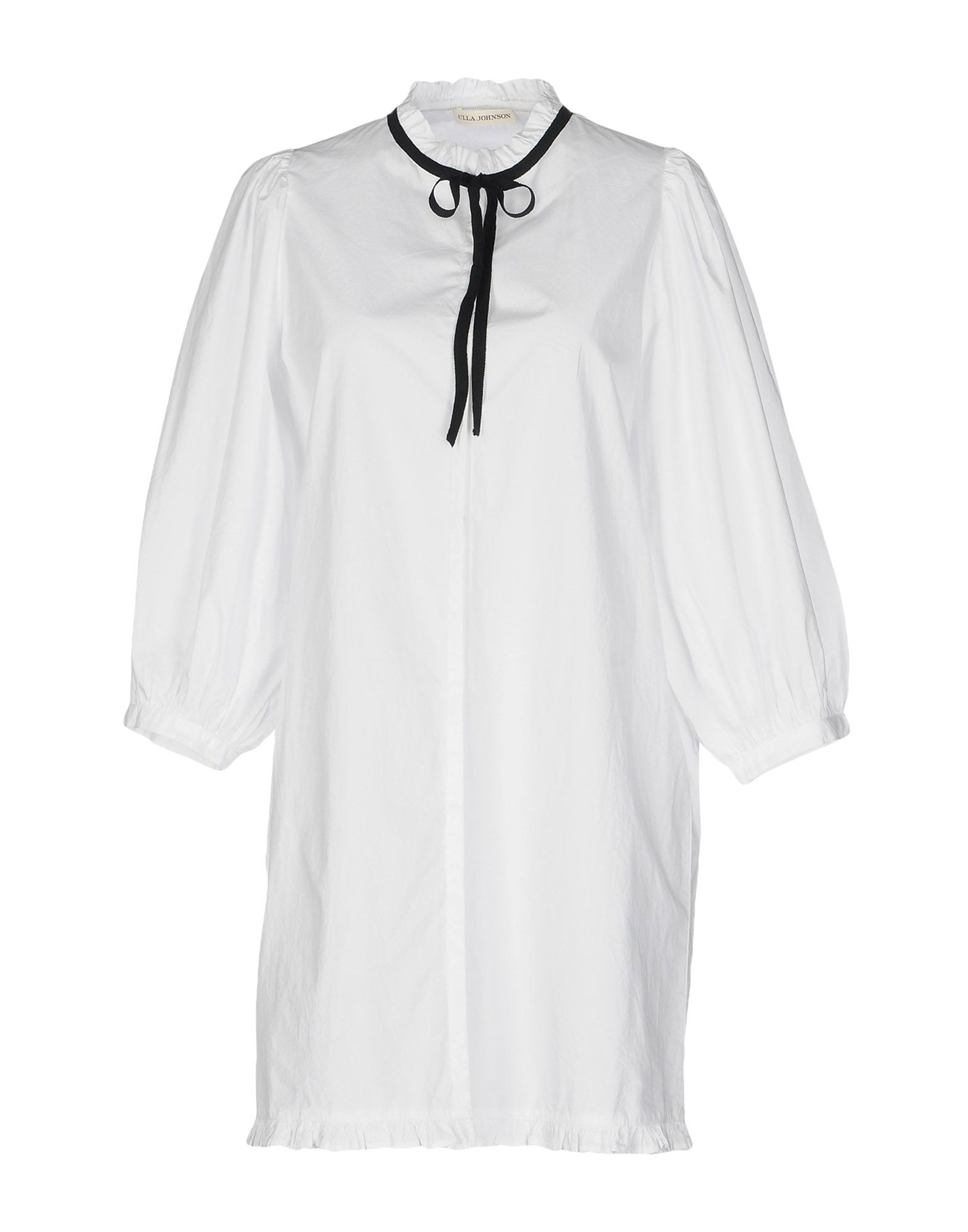 все цены на ULLA JOHNSON Короткое платье онлайн