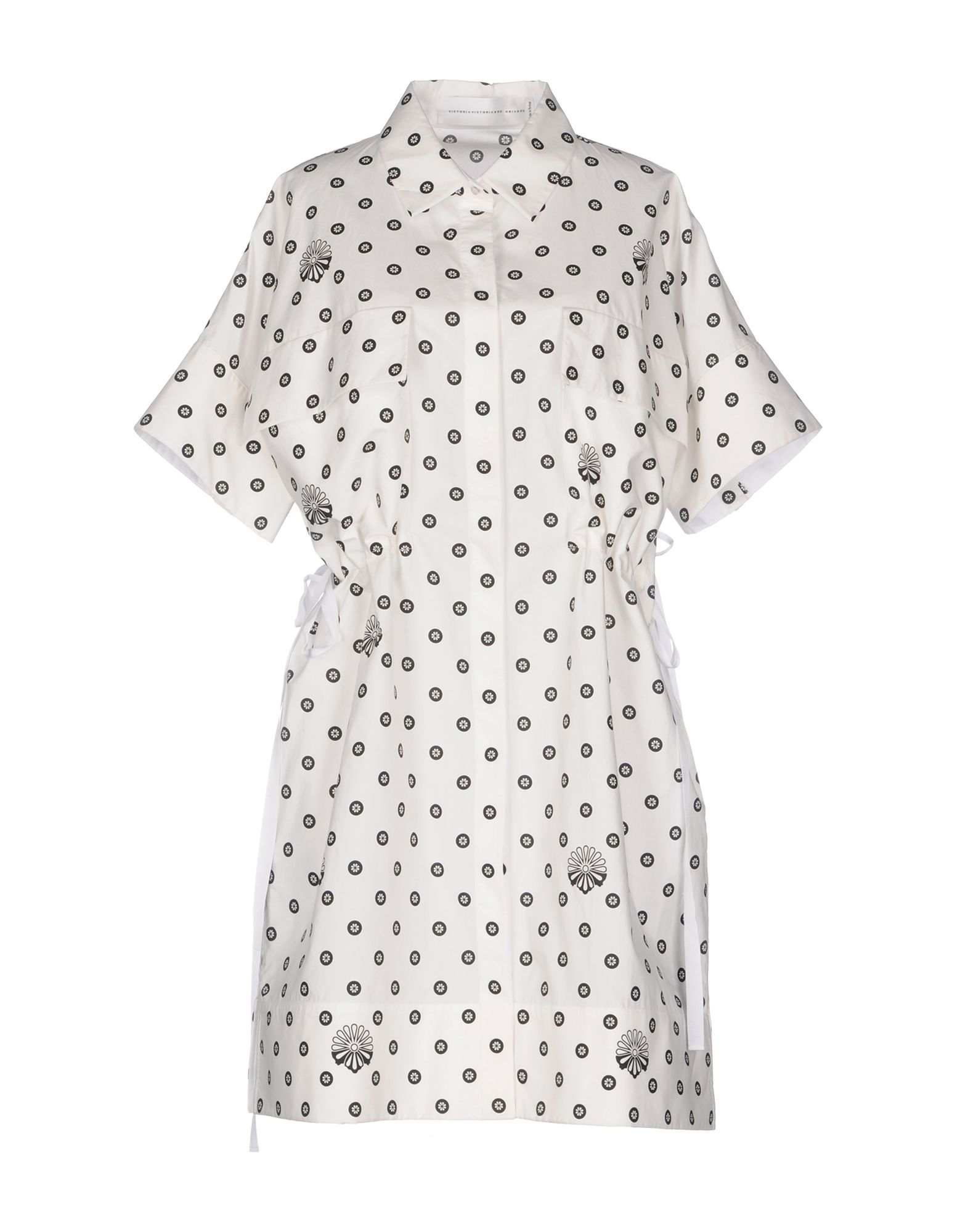 цена VICTORIA, VICTORIA BECKHAM Короткое платье онлайн в 2017 году