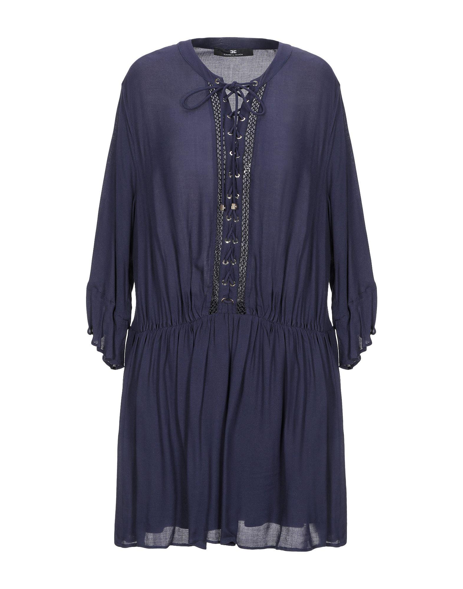 ELISABETTA FRANCHI Короткое платье elisabetta franchi mummy короткое платье
