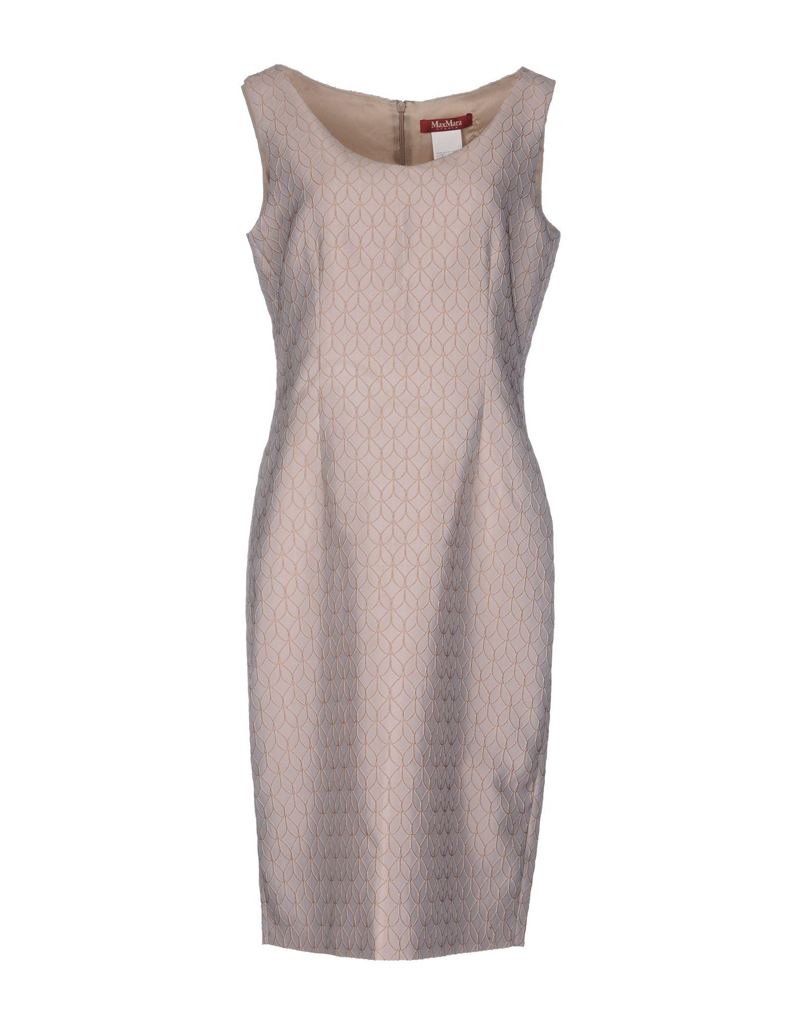 MAX MARA STUDIO Платье до колена max mara studio платье длиной 3 4