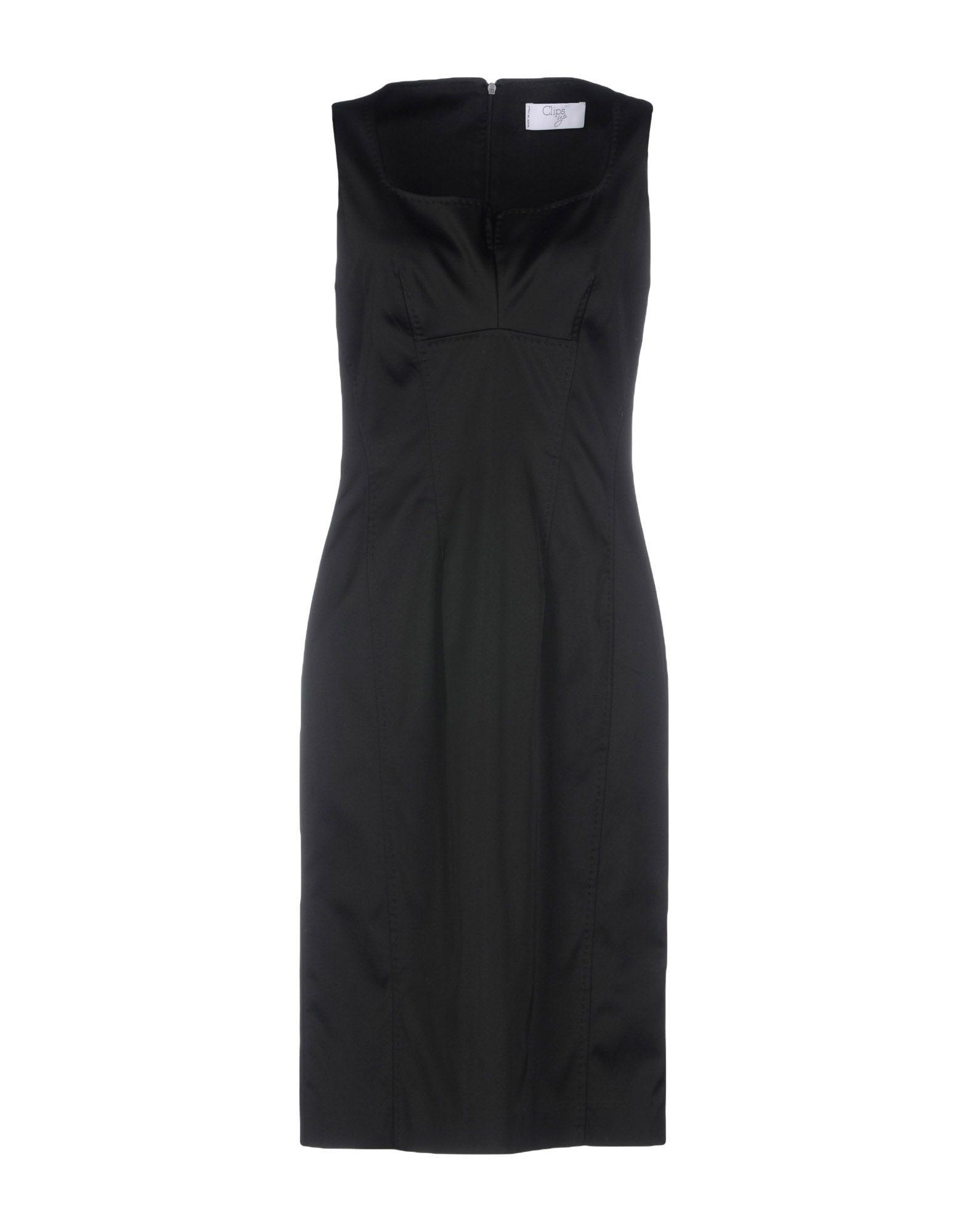 CLIPS UP | CLIPS UP Knee-length dresses | Goxip