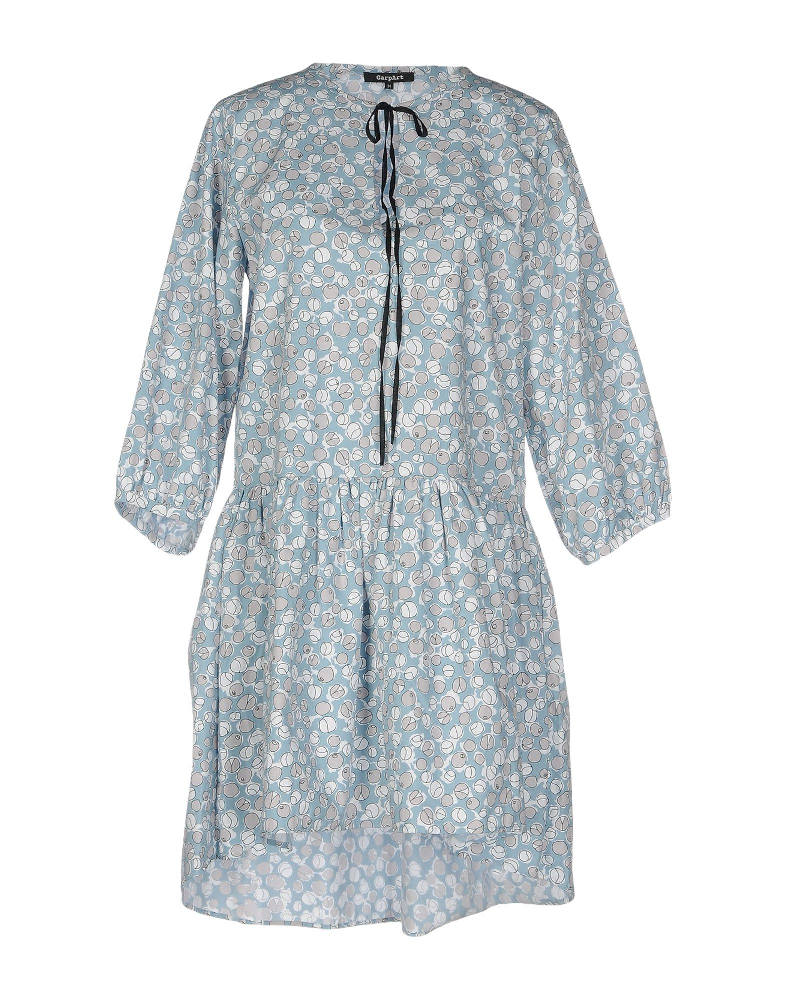 GARPART Short Dress in Slate Blue