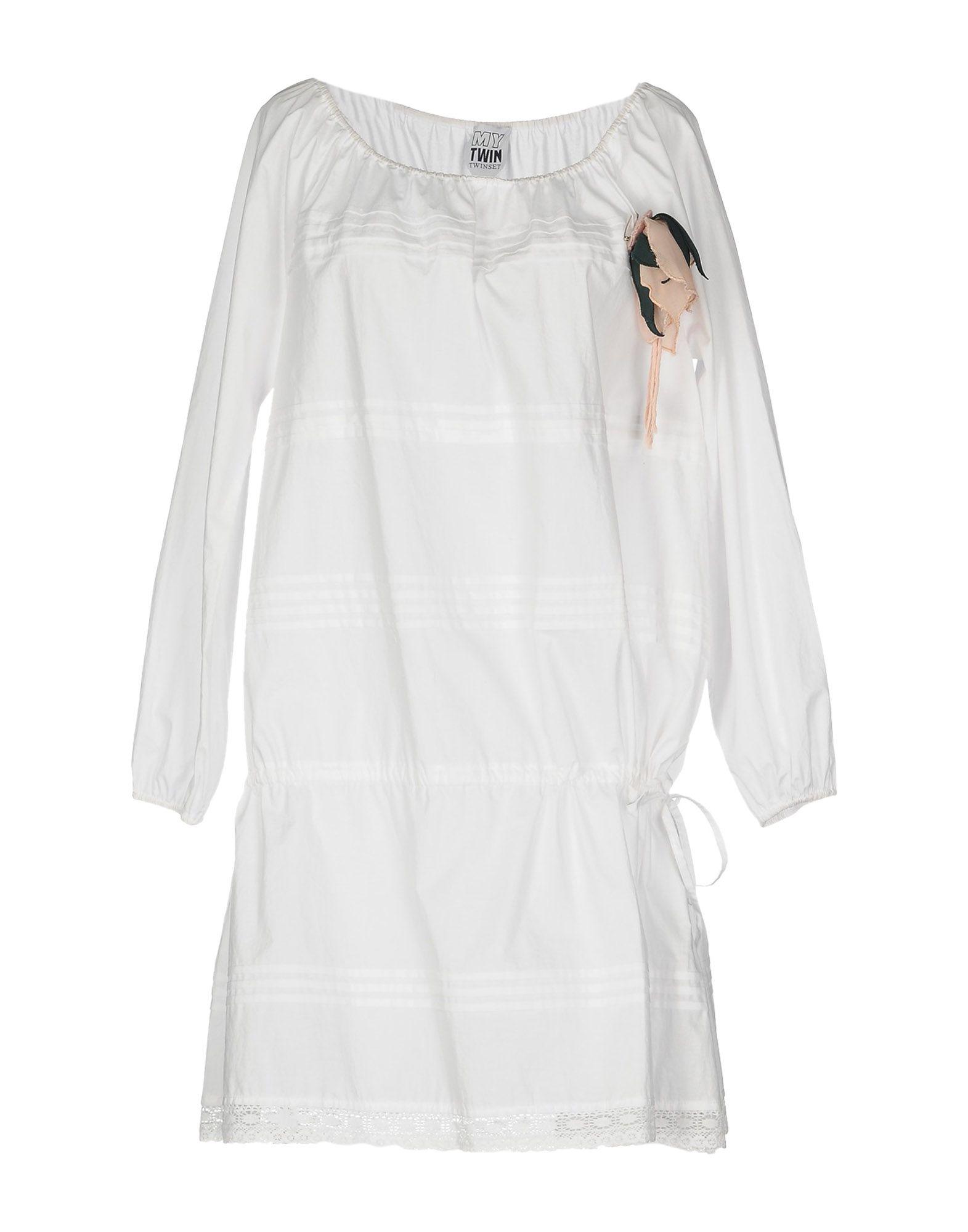 Фото - TWIN-SET Simona Barbieri Короткое платье брошь blucome bijouteria esmaltes 7106100495