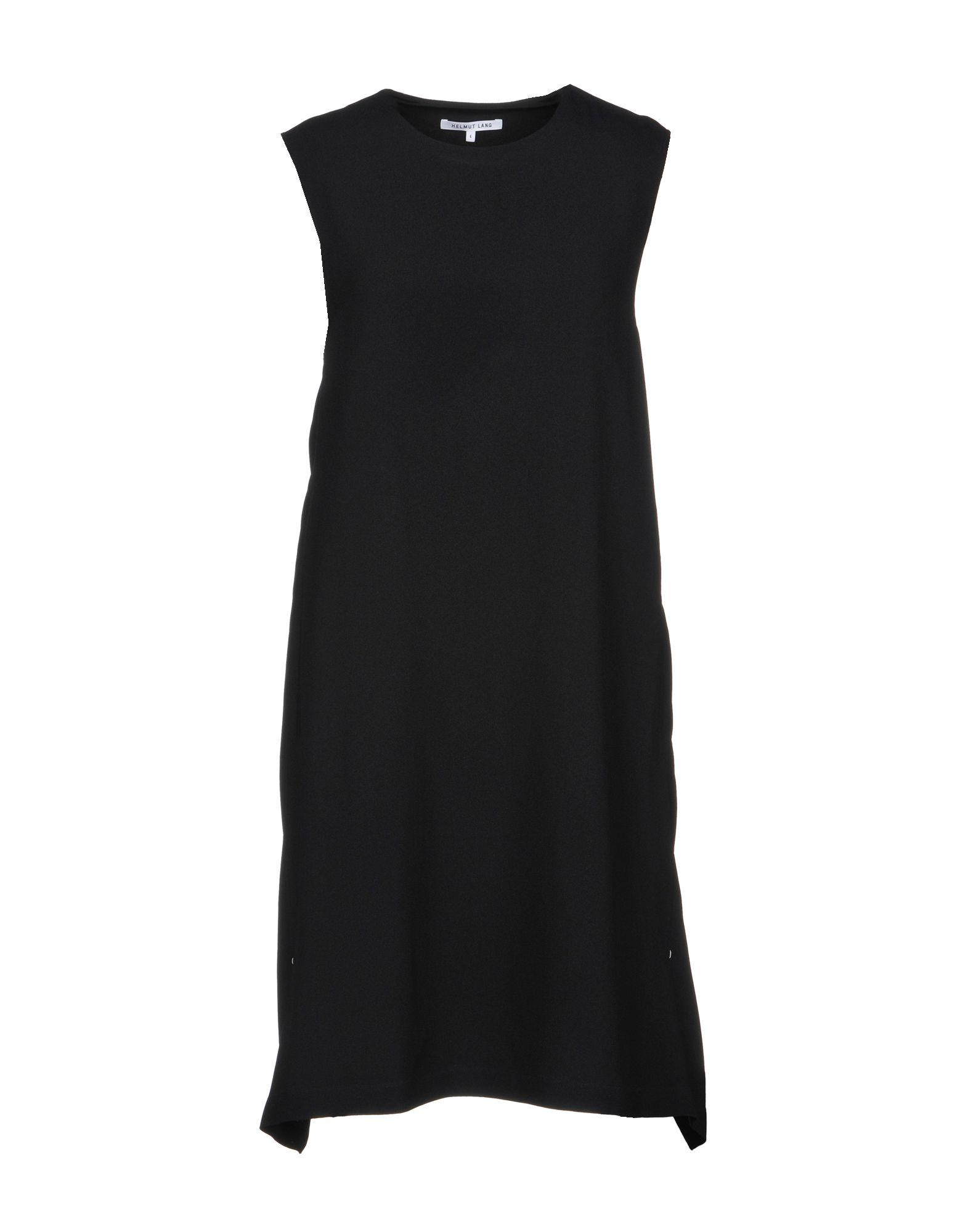 цена HELMUT LANG Короткое платье онлайн в 2017 году