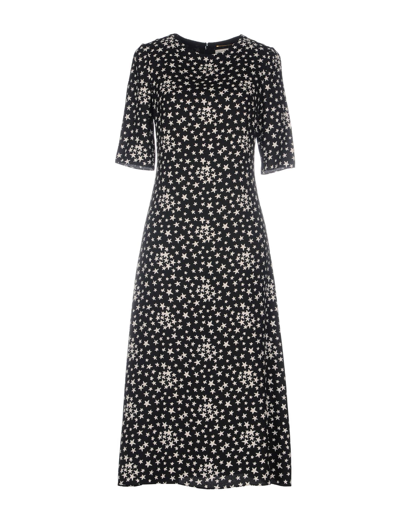 где купить SAINT LAURENT Платье до колена по лучшей цене