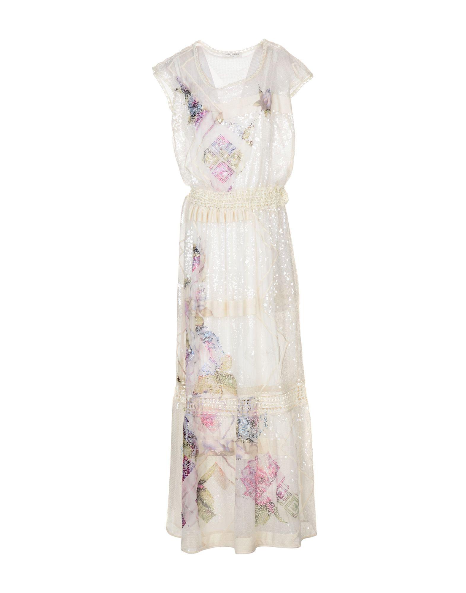 SONIA FORTUNA Длинное платье sonia fortuna брючный комбинезон