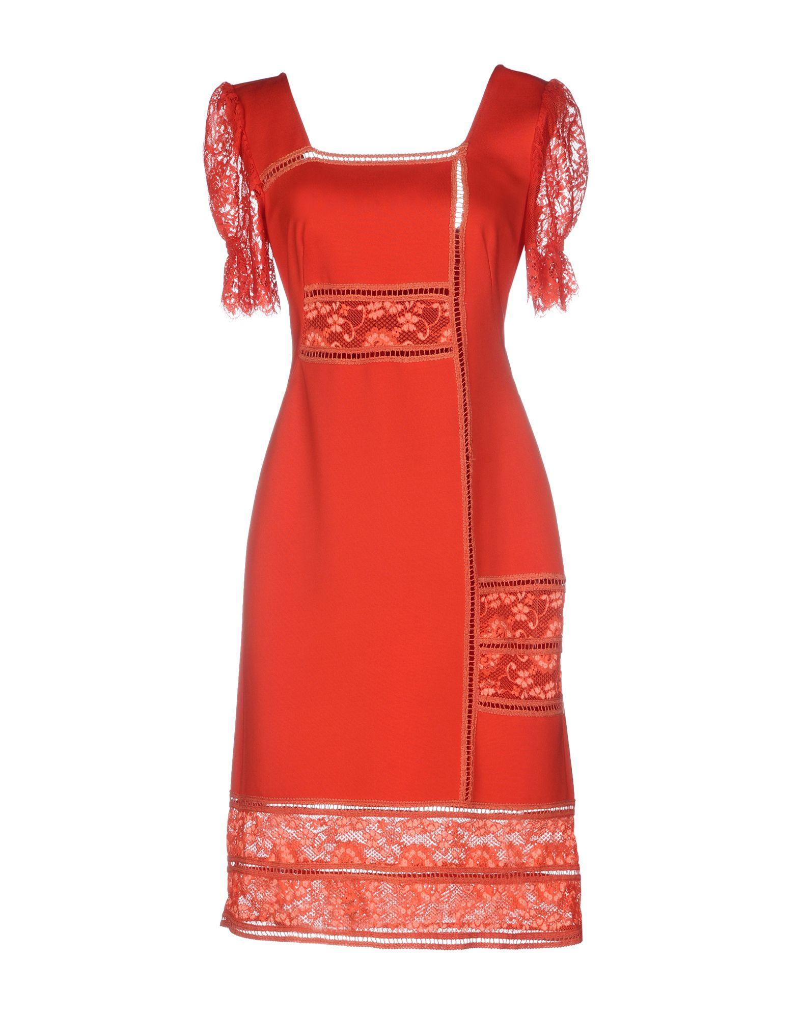 цена SONIA FORTUNA Платье до колена онлайн в 2017 году