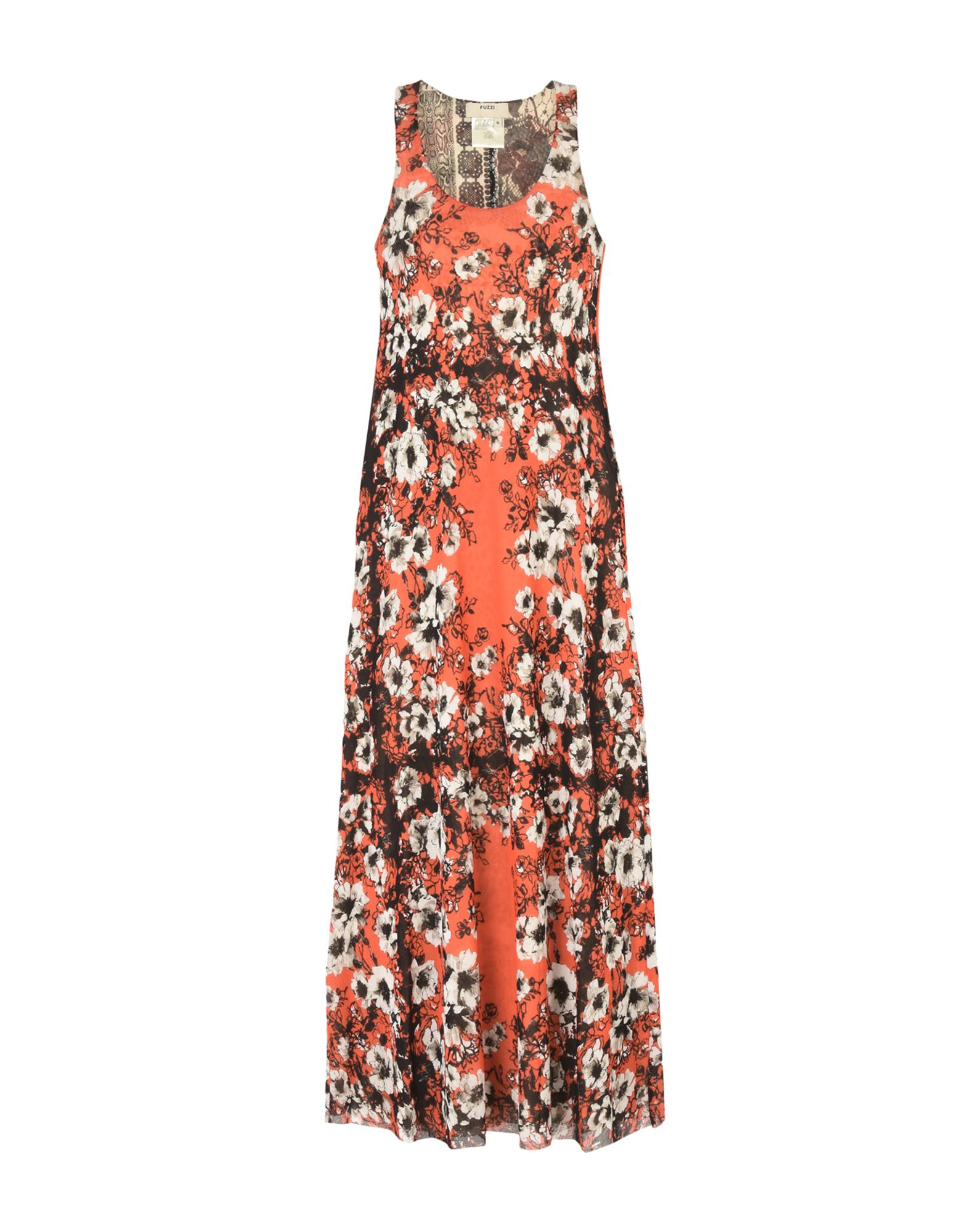 FUZZI Платье длиной 3/4 lisa corti платье длиной 3 4