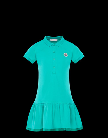 DRESS Green Kids 4-6 Years - Girl Woman