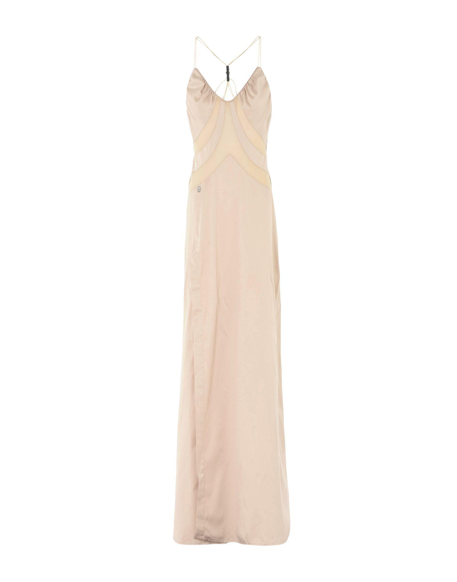 PHILIPP PLEIN Длинное платье платье короткое спереди длинное сзади летнее