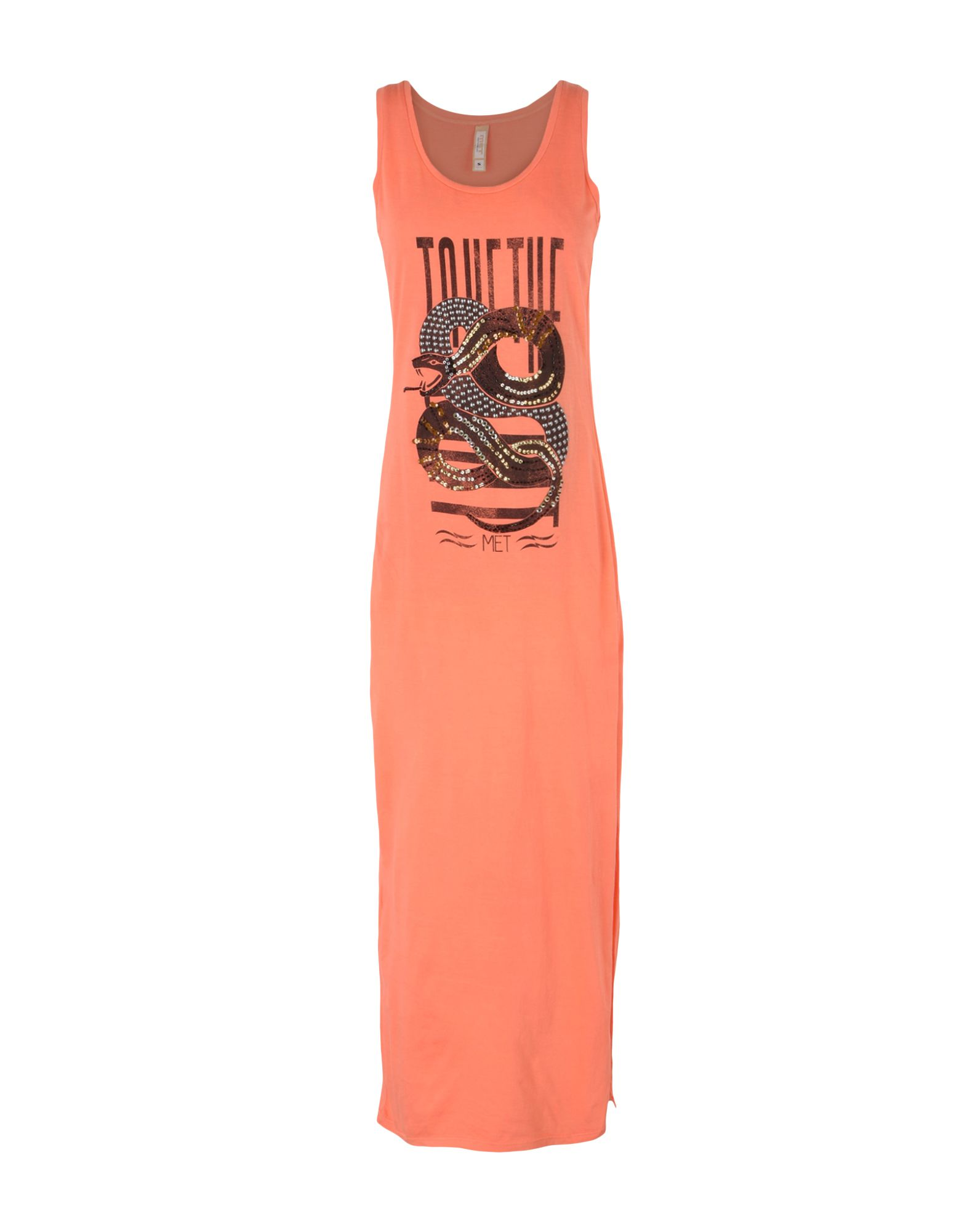 MET Платье длиной 3/4 lisa corti платье длиной 3 4