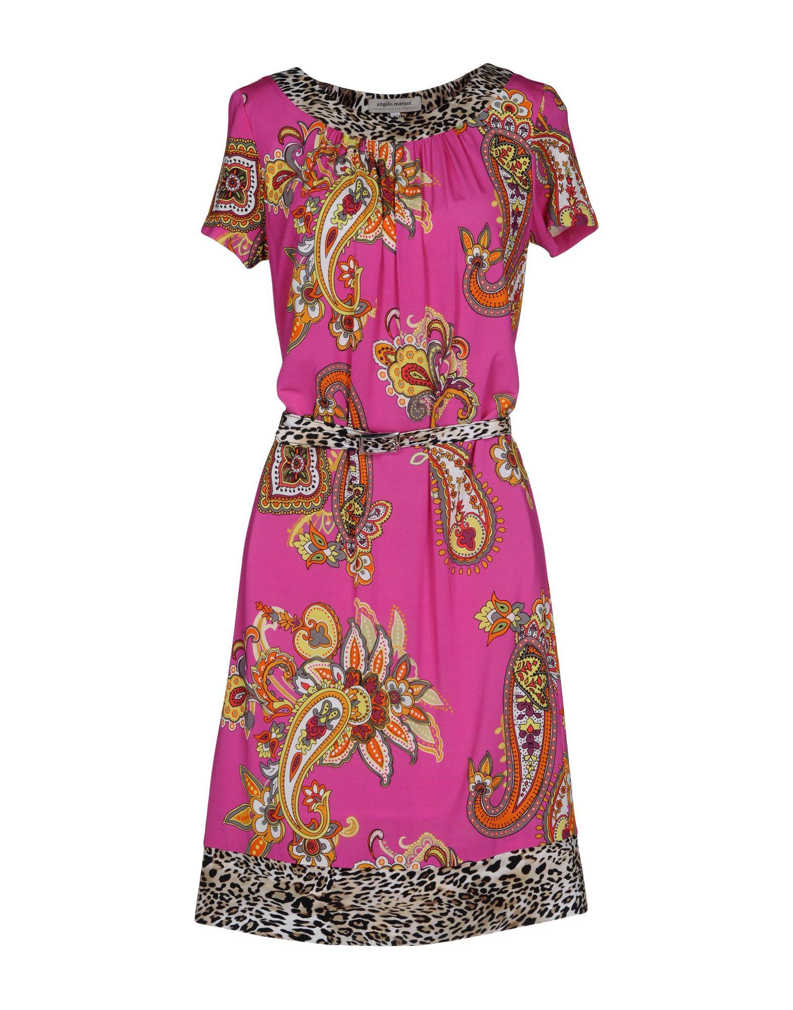 ANGELO MARANI Короткое платье ремень angelo marani